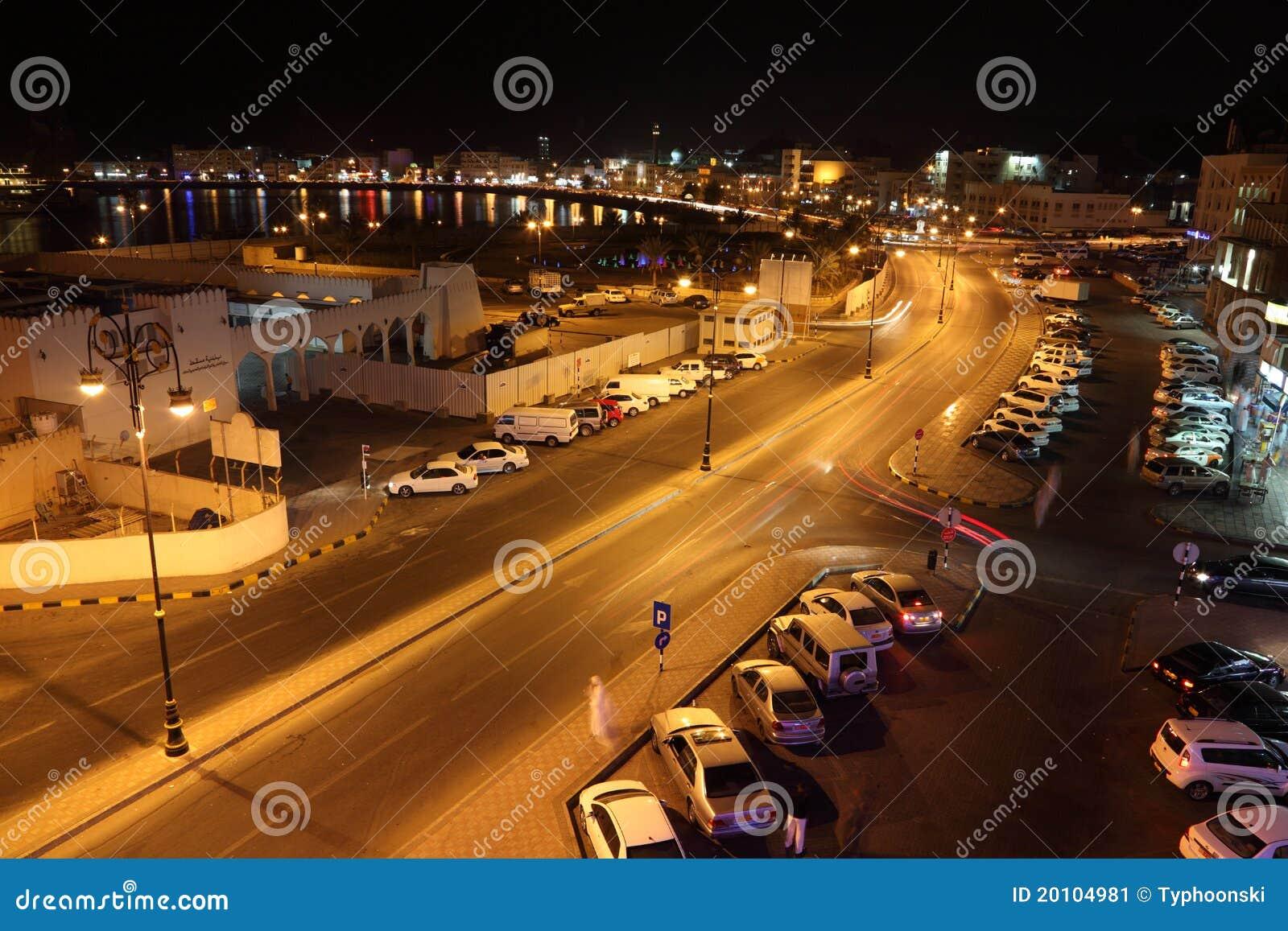 De oude stad van Muscateldruif, Oman
