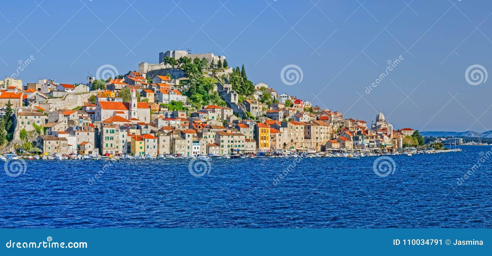 De oude stad van Sibenik