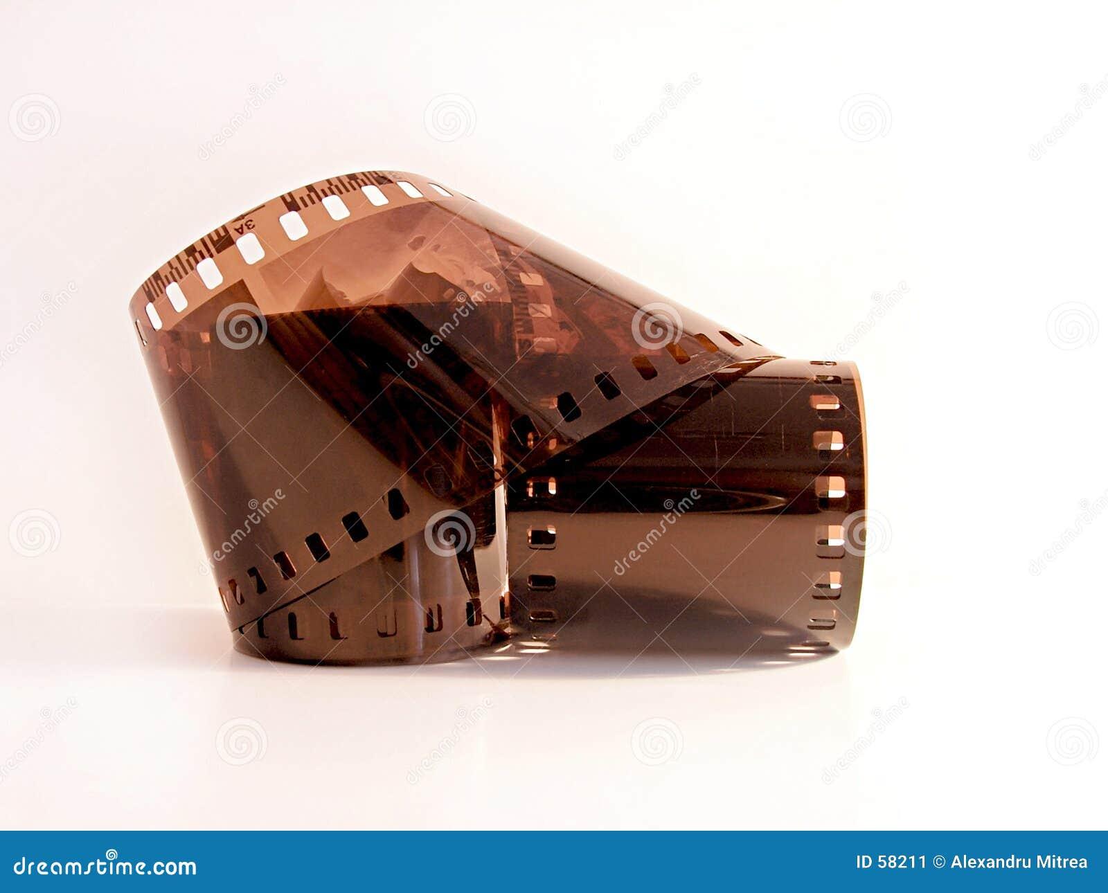 De oude Strook van de Film