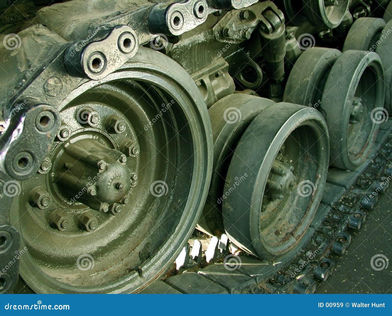 De oude tank van Vietnam
