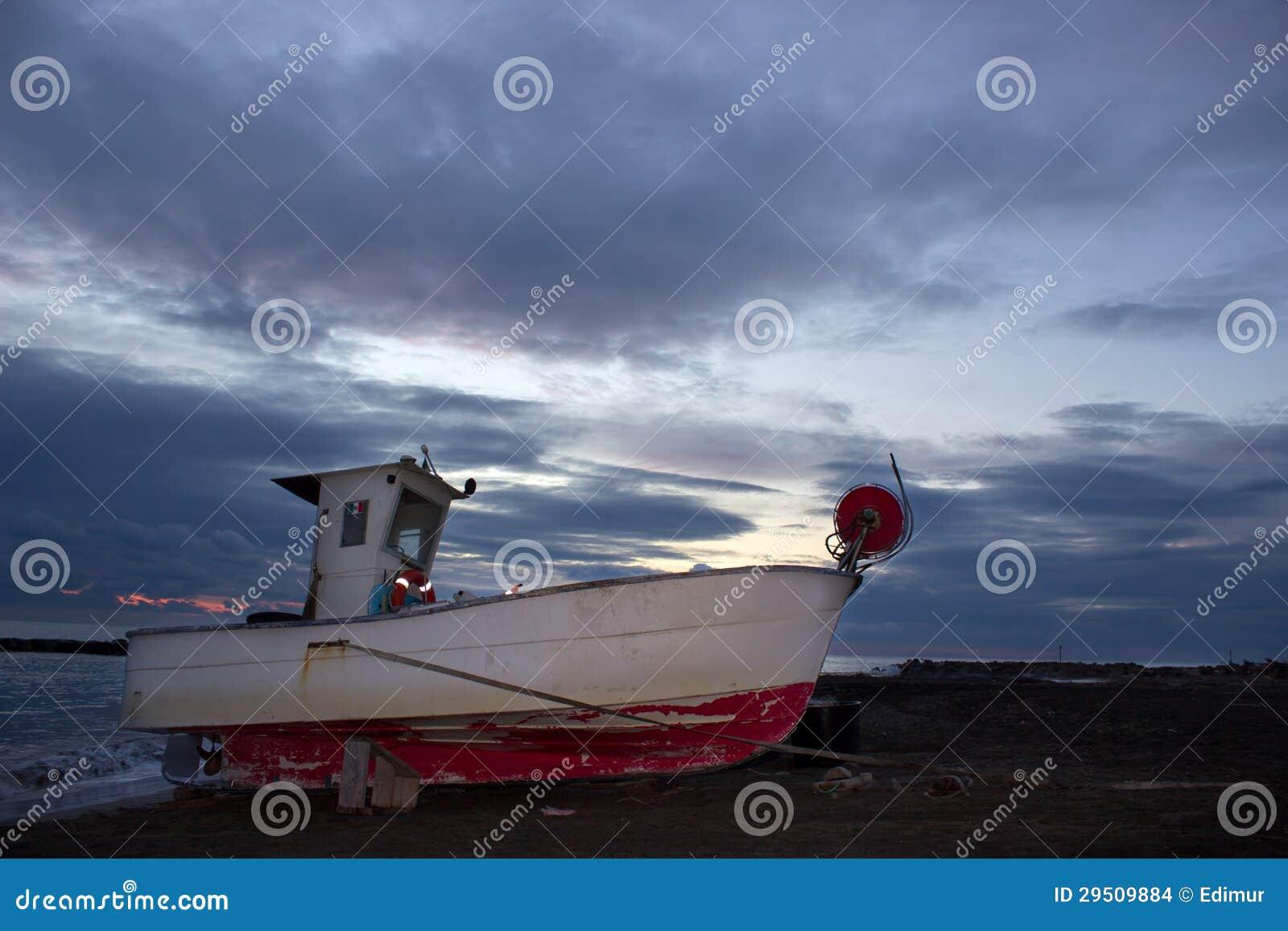 De oude vissersboot