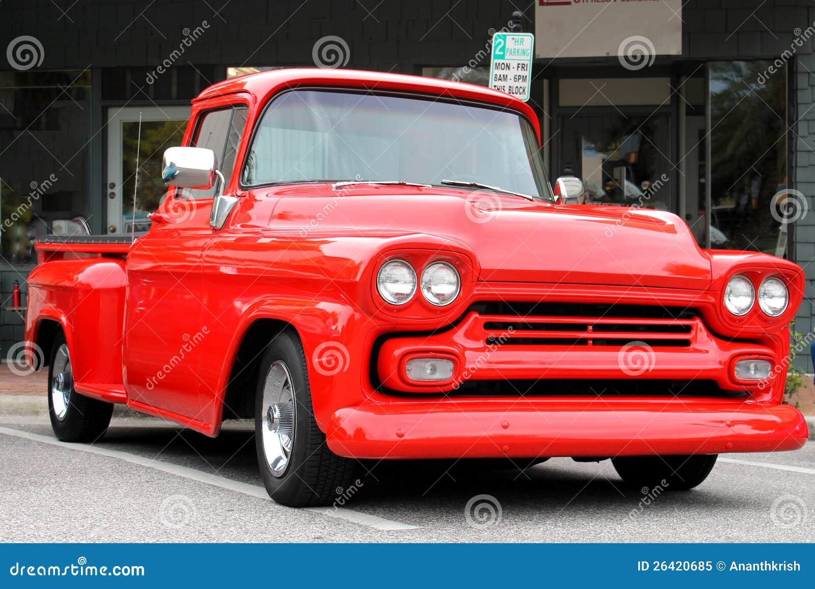 De oude Vrachtwagen Chevrolet