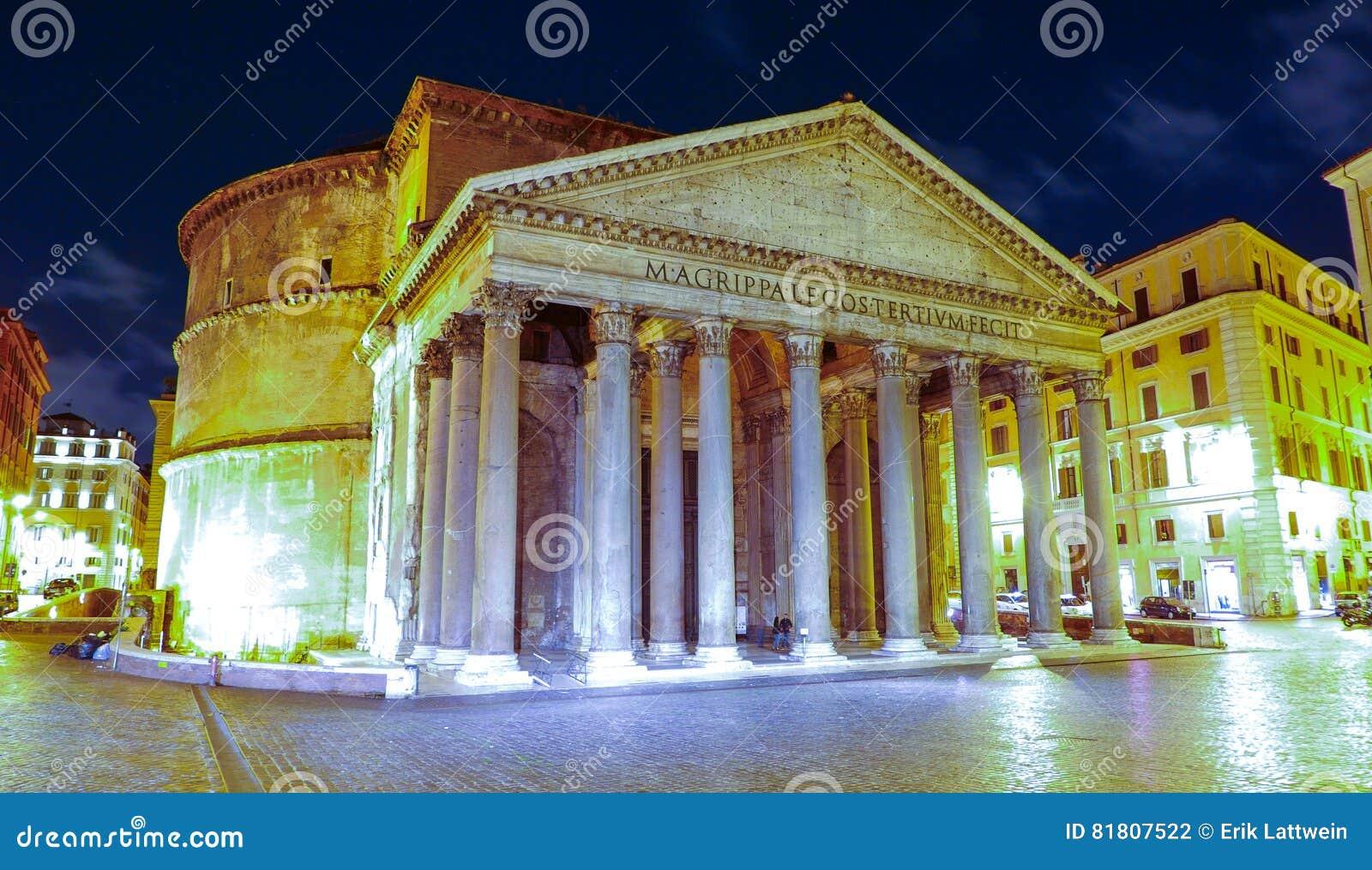De oudste Katholieke kerk in Rome - het Pantheon