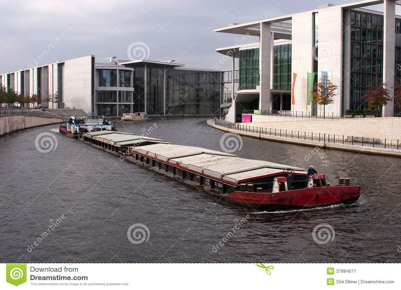 De overheidsdistrict van Berlijn