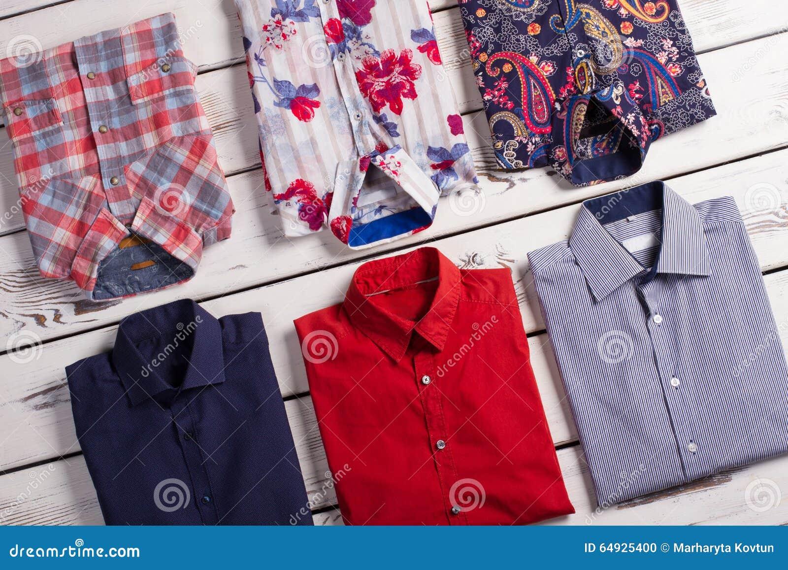 moderne overhemden