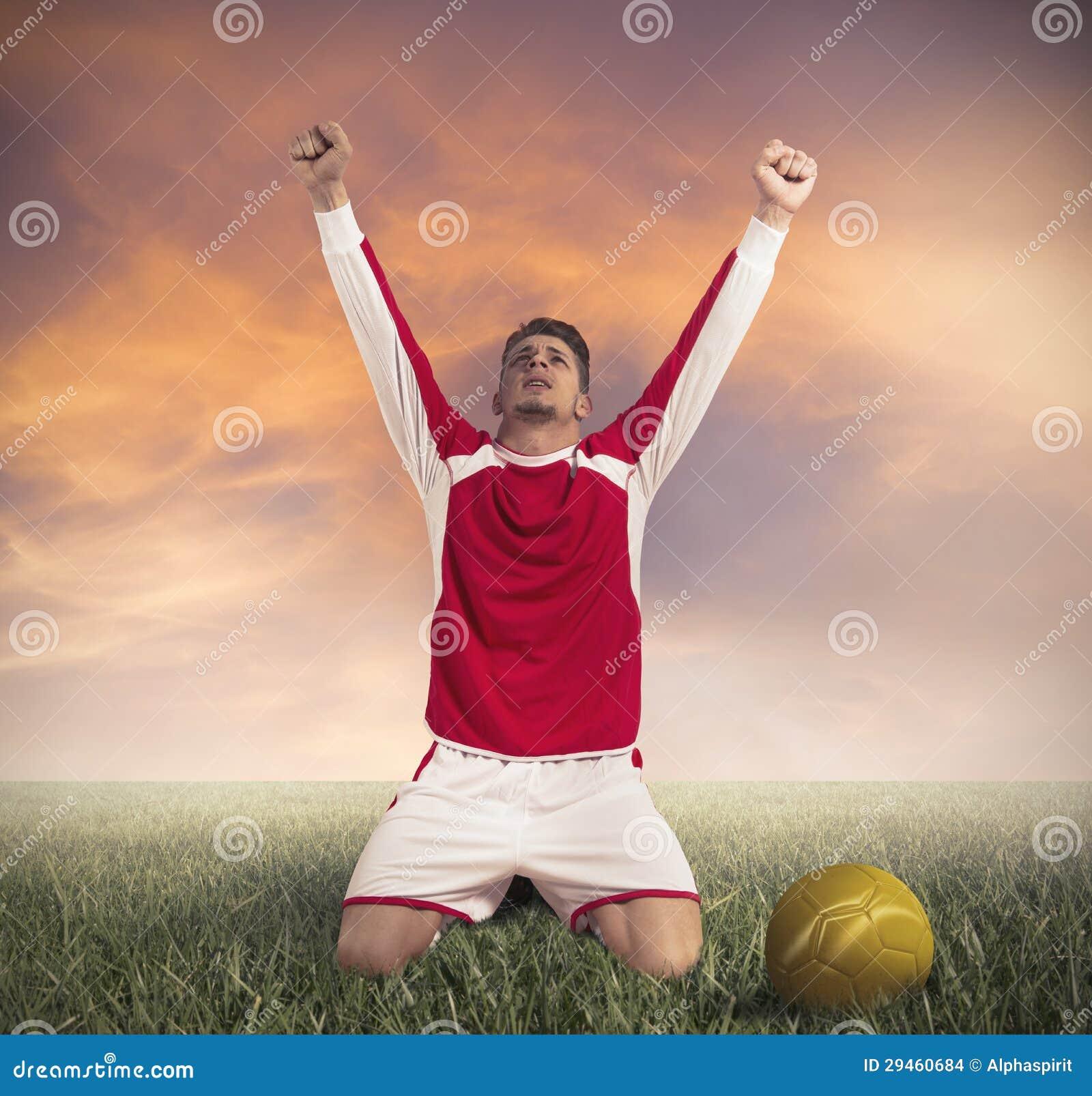 De Overwinning van de voetbal