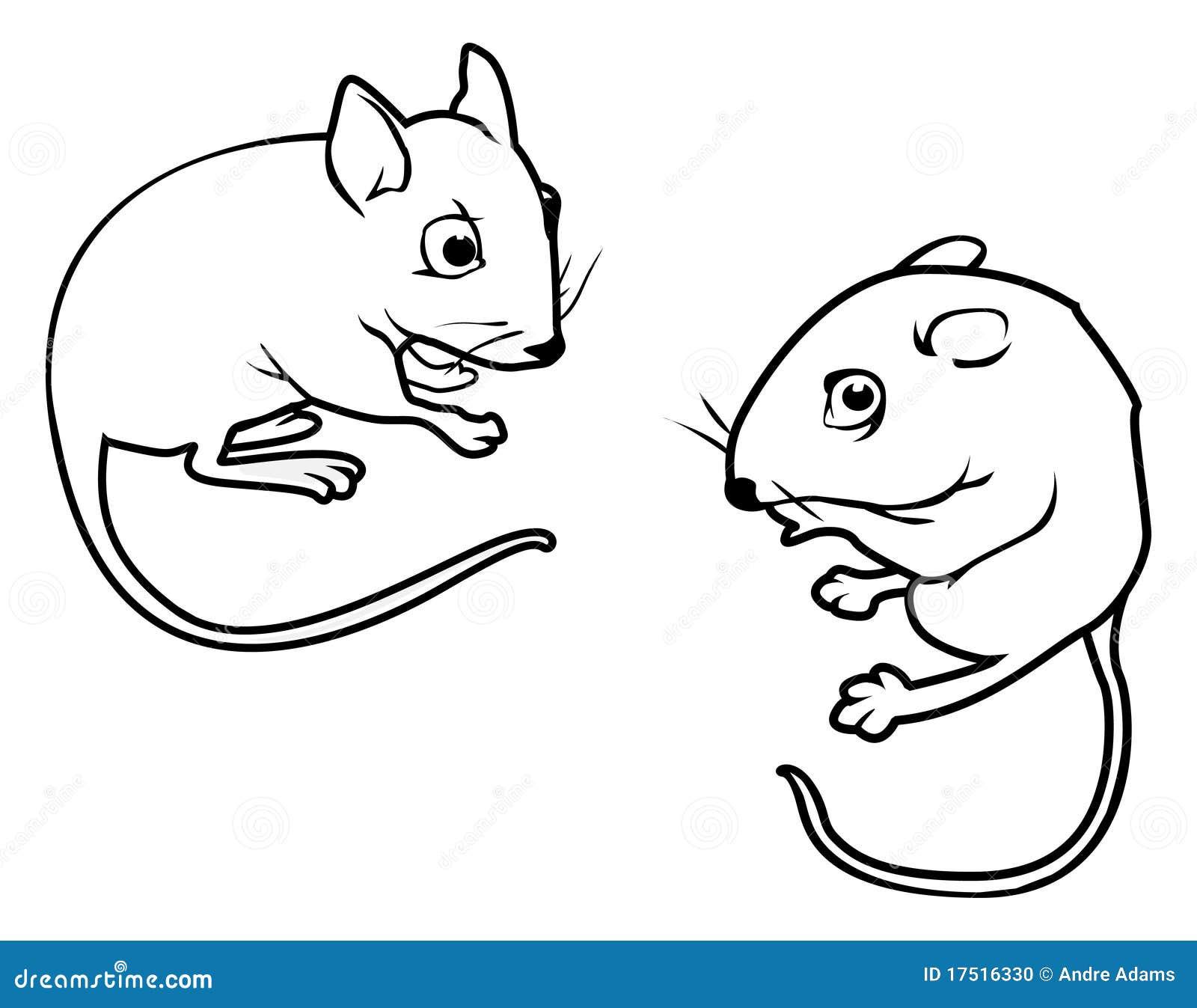 de overzichten van muizen stock foto afbeelding 17516330