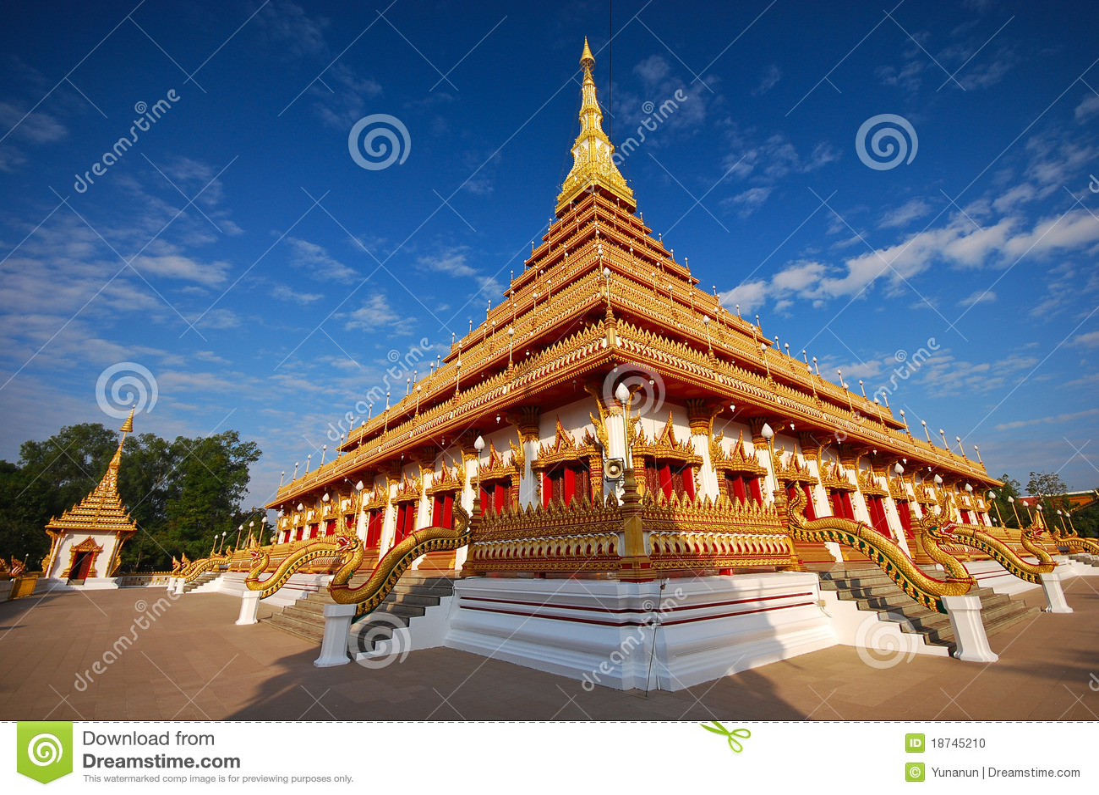 De pagode van Nongwang