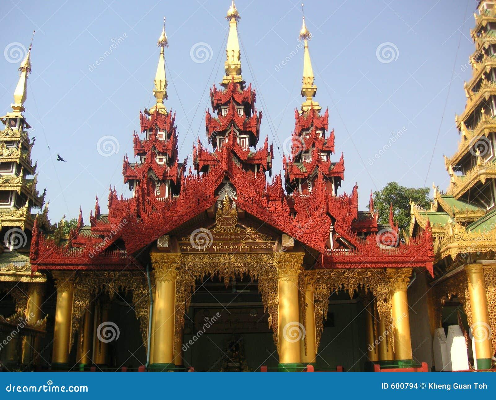 De Pagode van Shwedagon