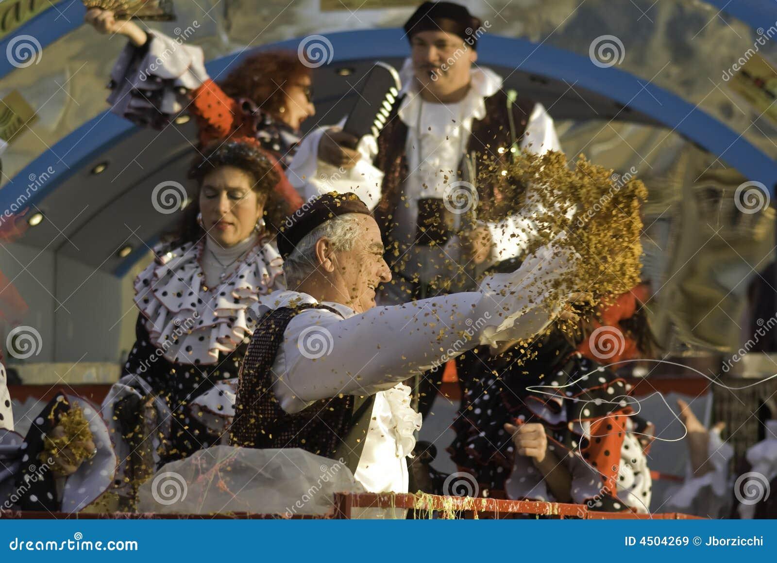 De parade van Carnaval