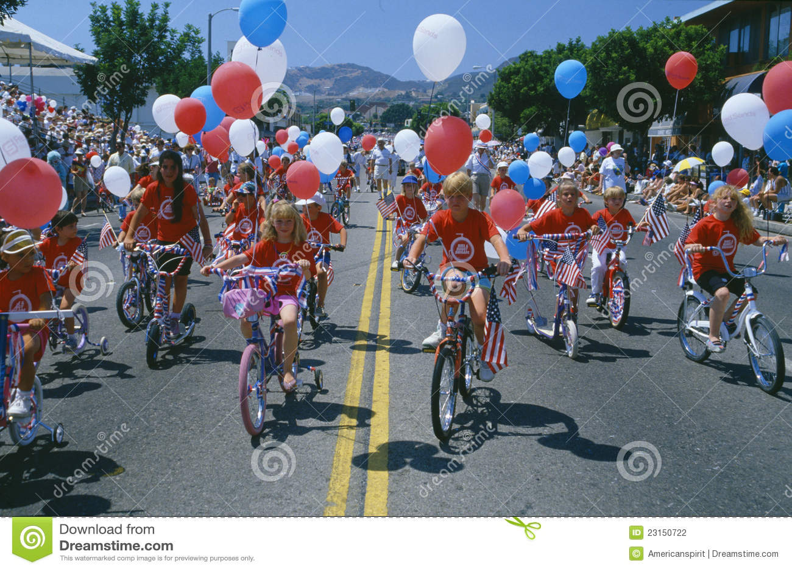 De Parade van de Dag van de onafhankelijkheid
