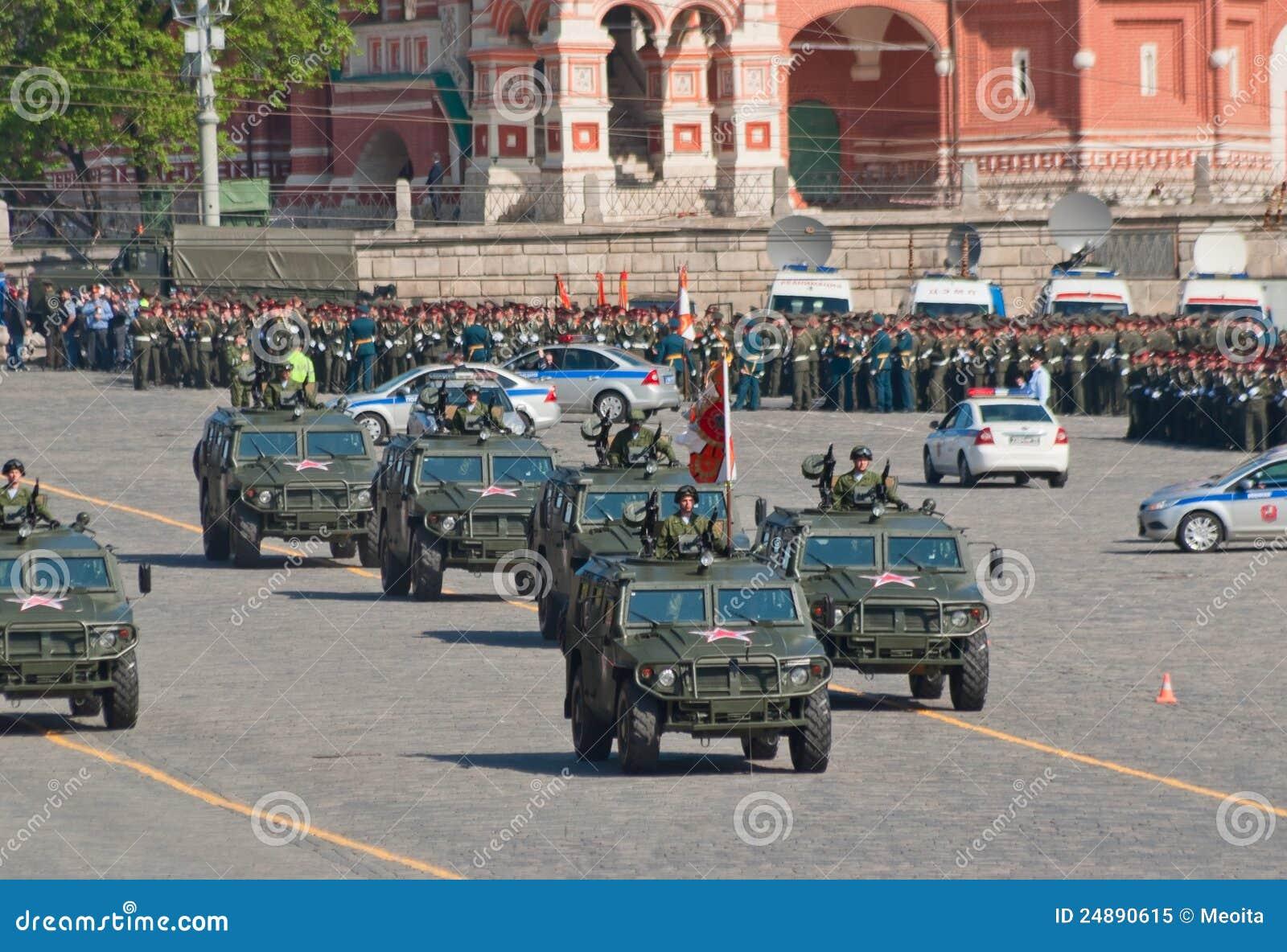 De paraderepetitie van de overwinning: Gaz-2330