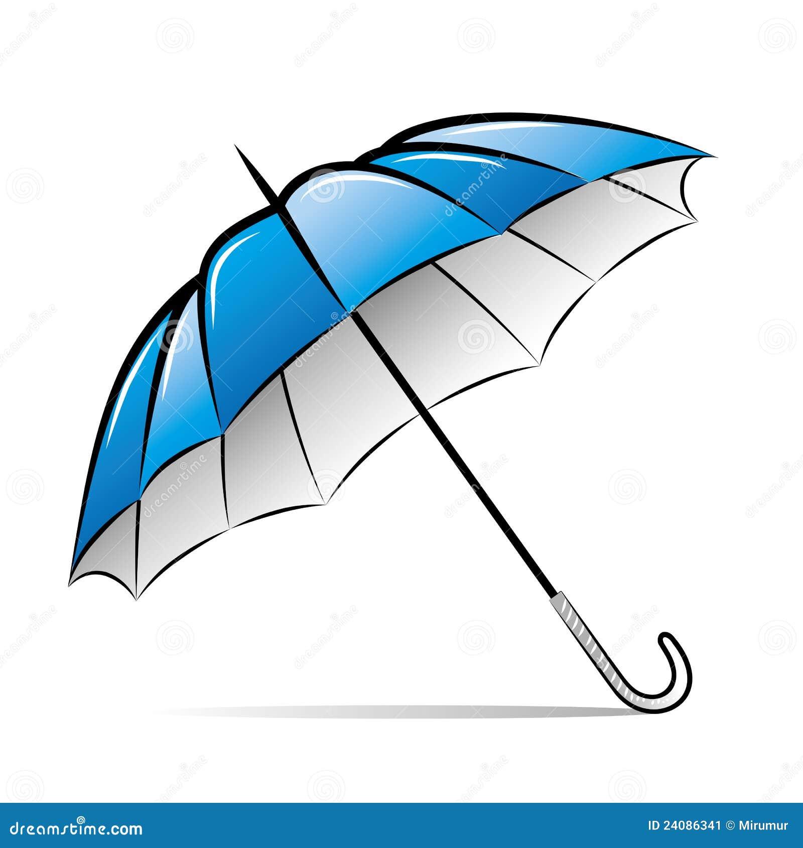 De paraplu van de tekening stock afbeelding afbeelding - Dessin parasol ...