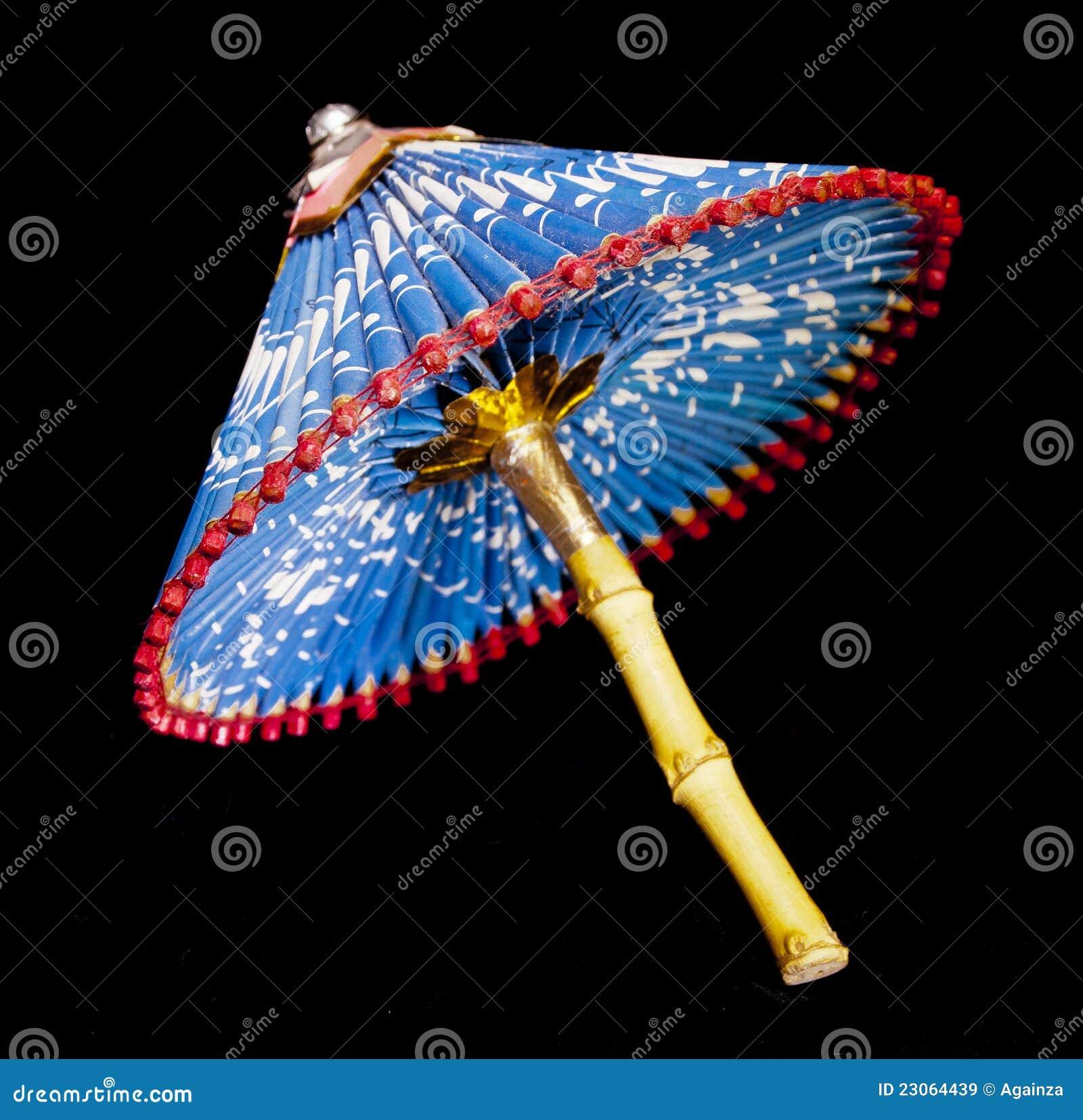 De paraplu van het document