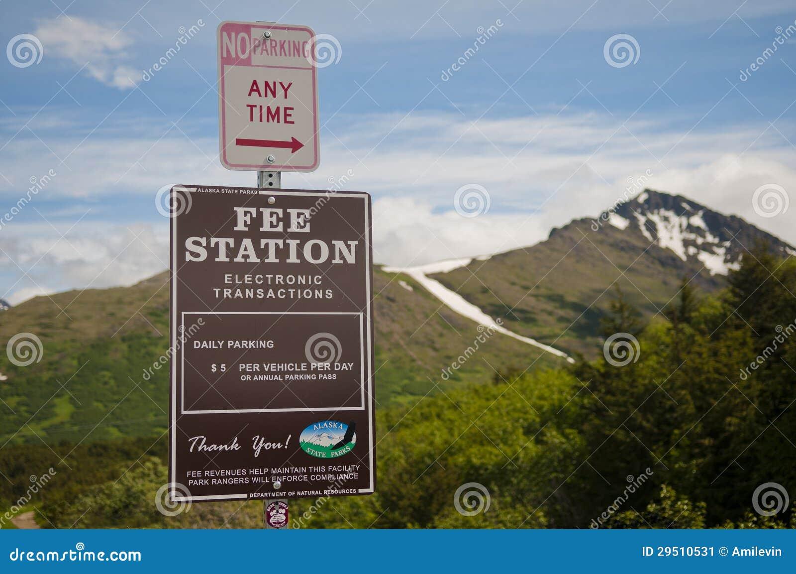 De parkerenprijs van Alaska