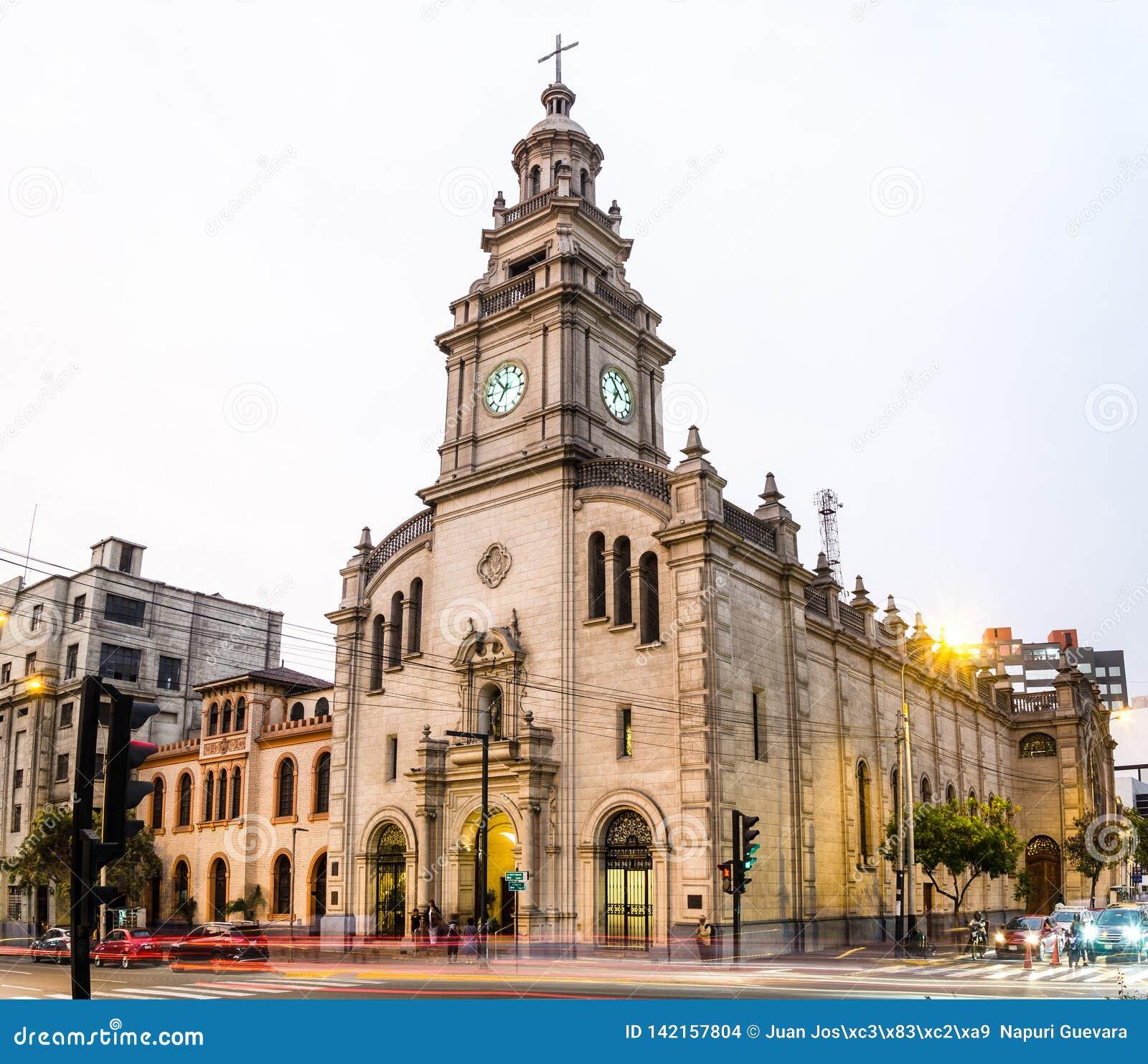De parochie van Onze Dame van Pilar is de stempel van San Isidro
