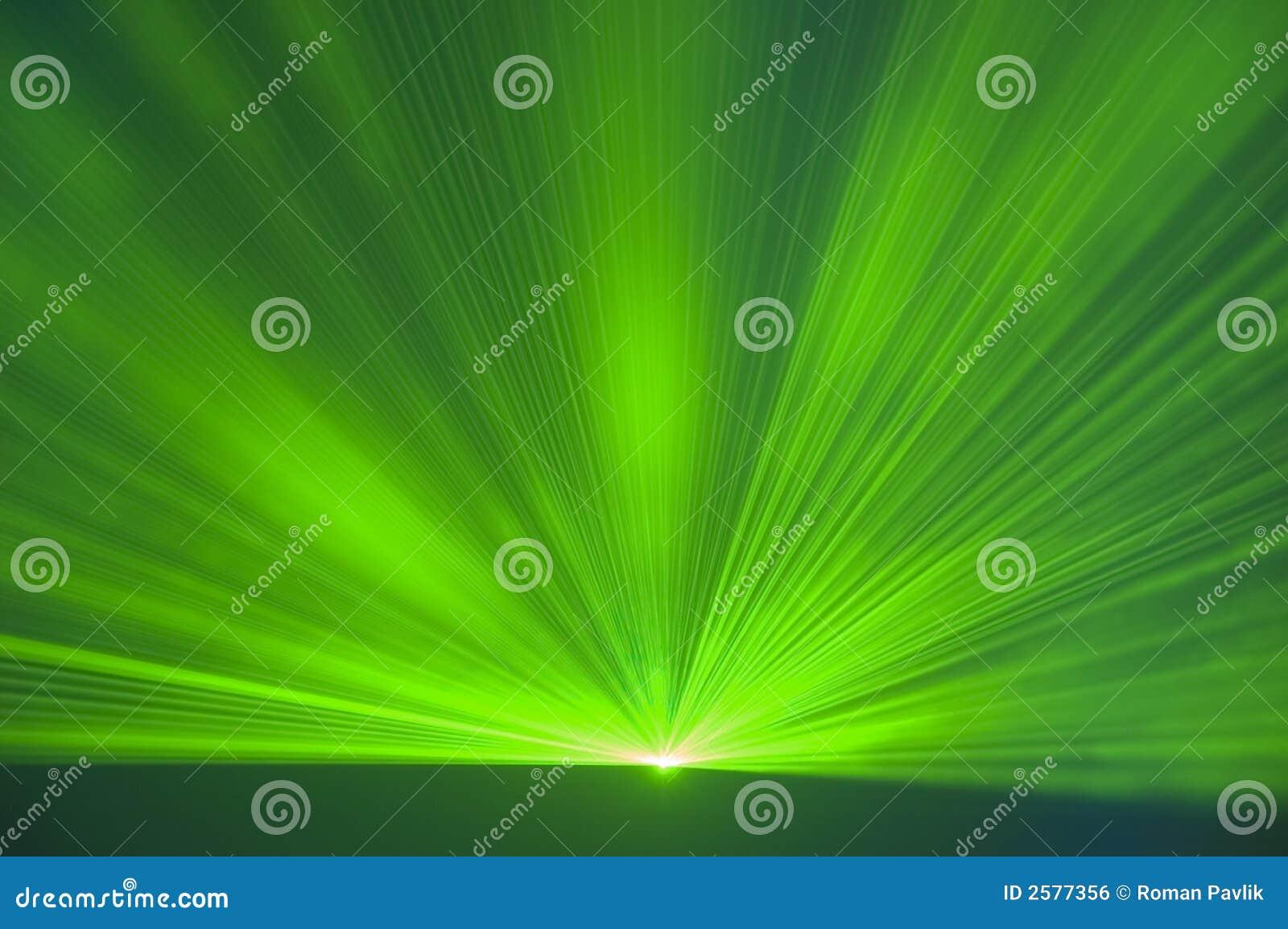 De partij van de laser