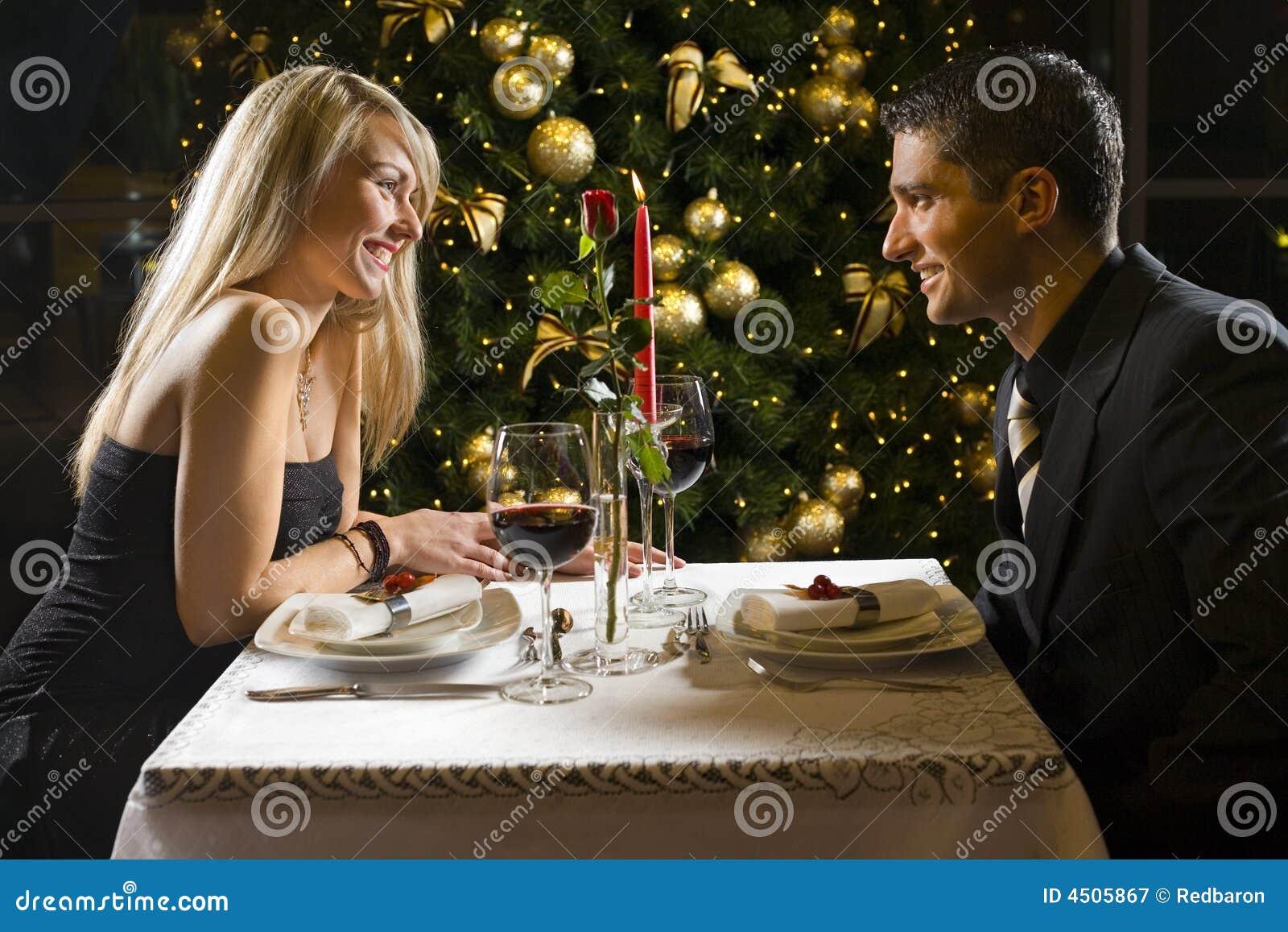 De partij van het diner