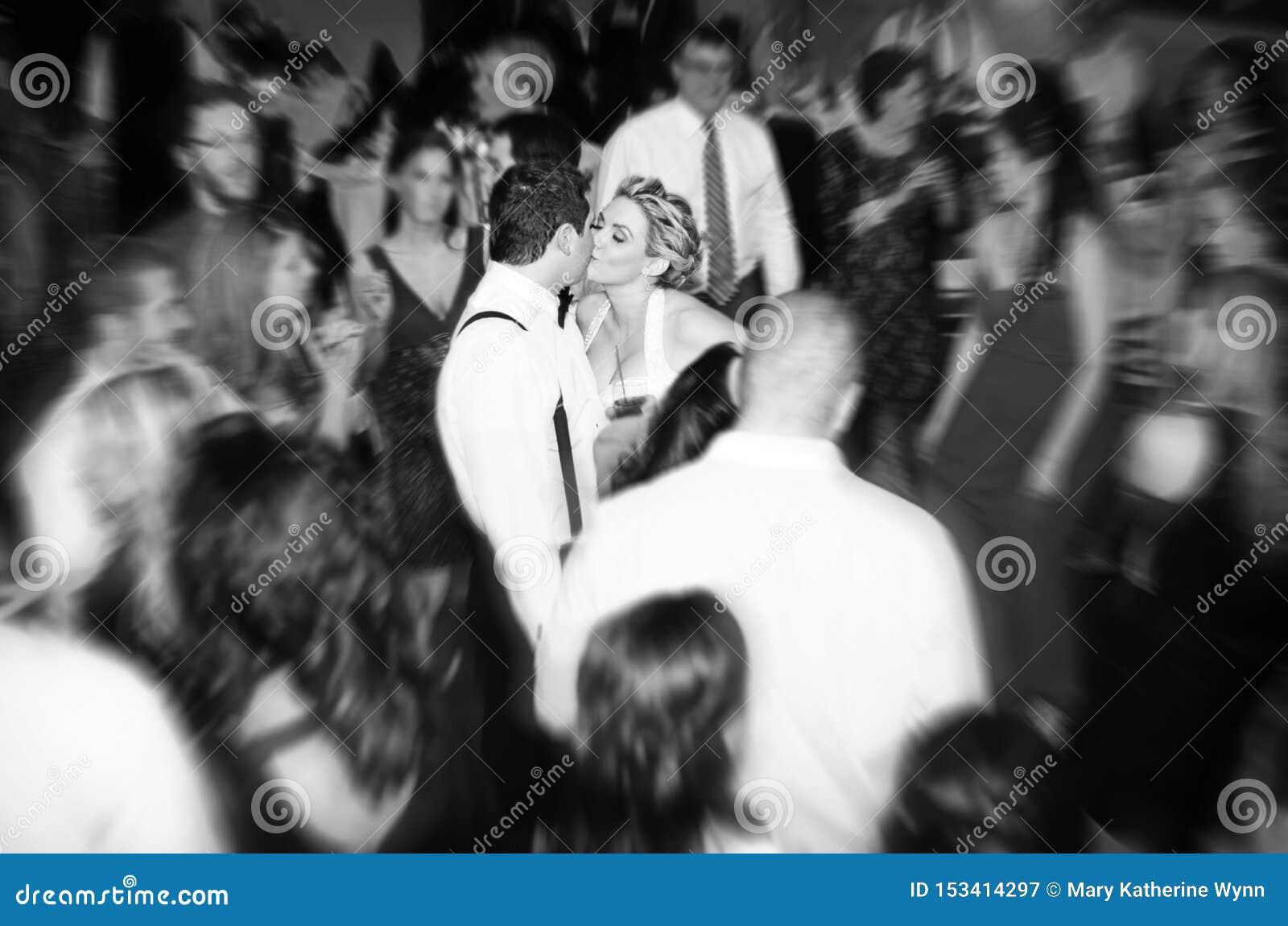 De partij van de huwelijksontvangst
