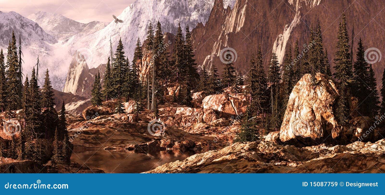 De Pas/Rockies van Milner