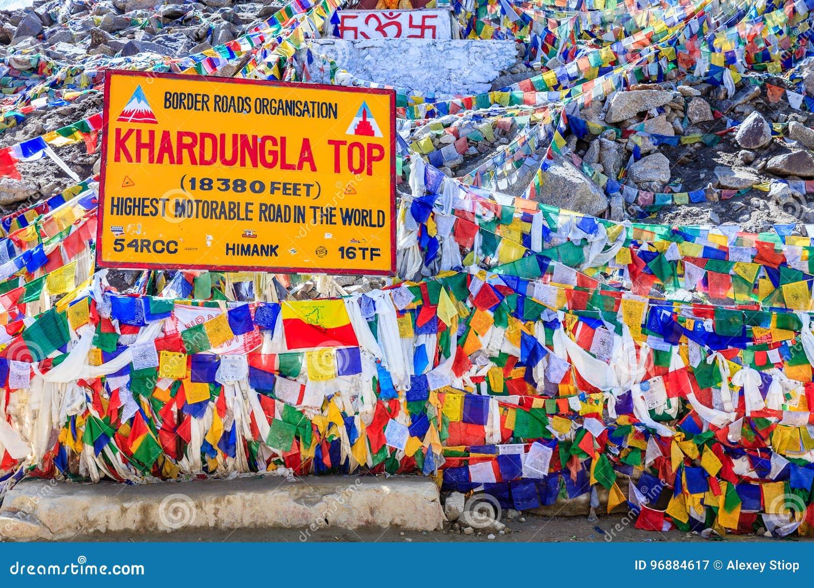 De pas van Khardungla