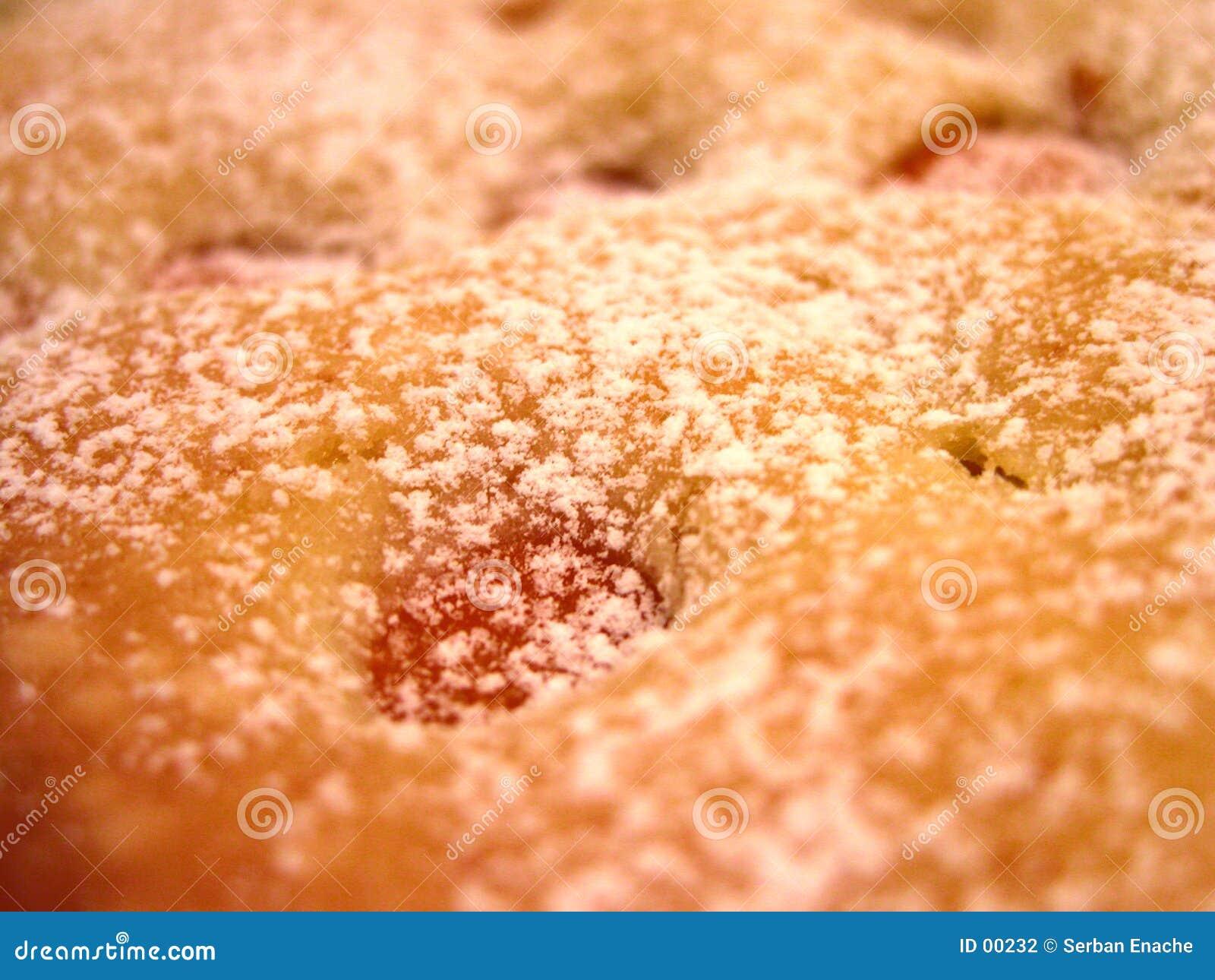 De pastei van abrikozen
