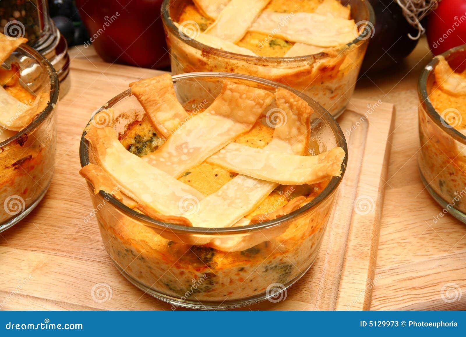 De Pastei van de Pot van de kip