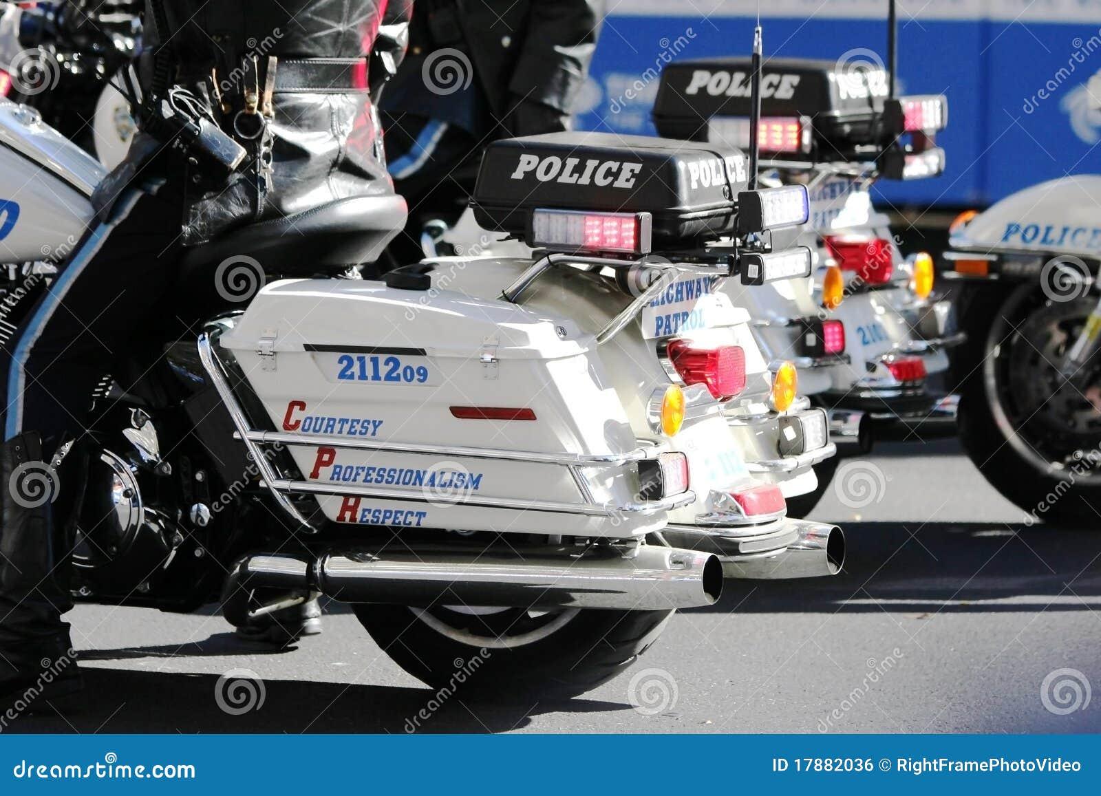 De patrouille van de politie