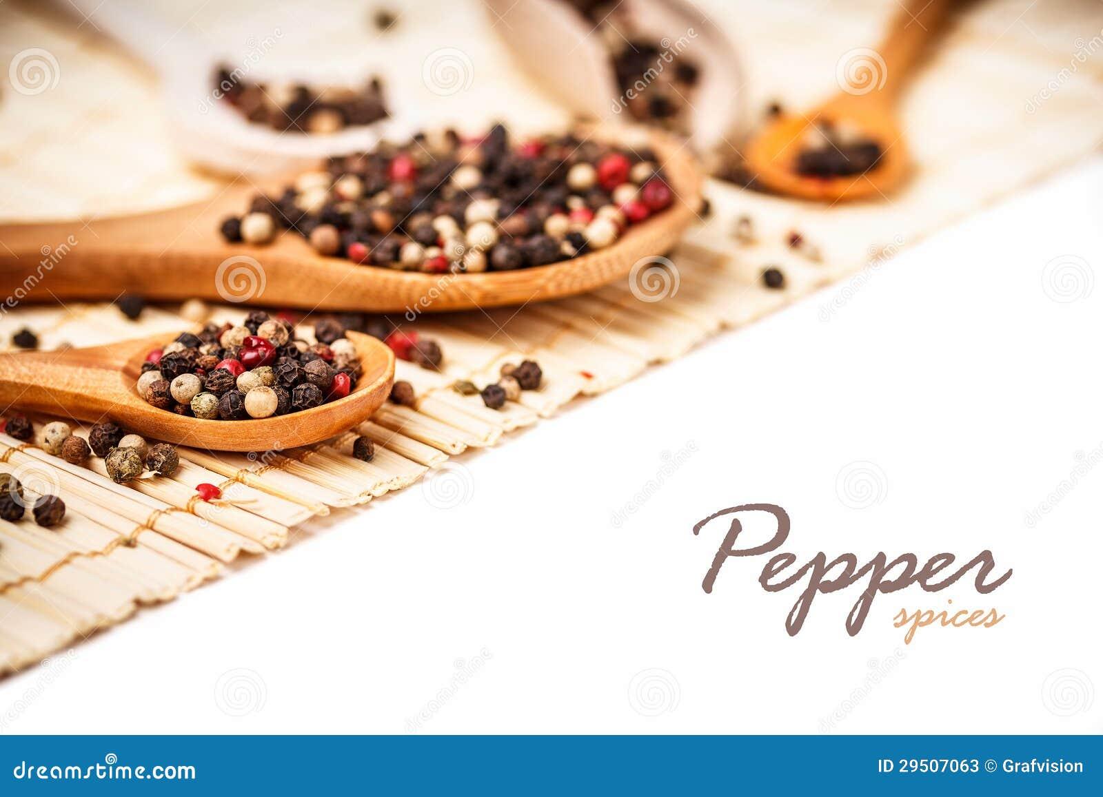 De peper van de mengeling