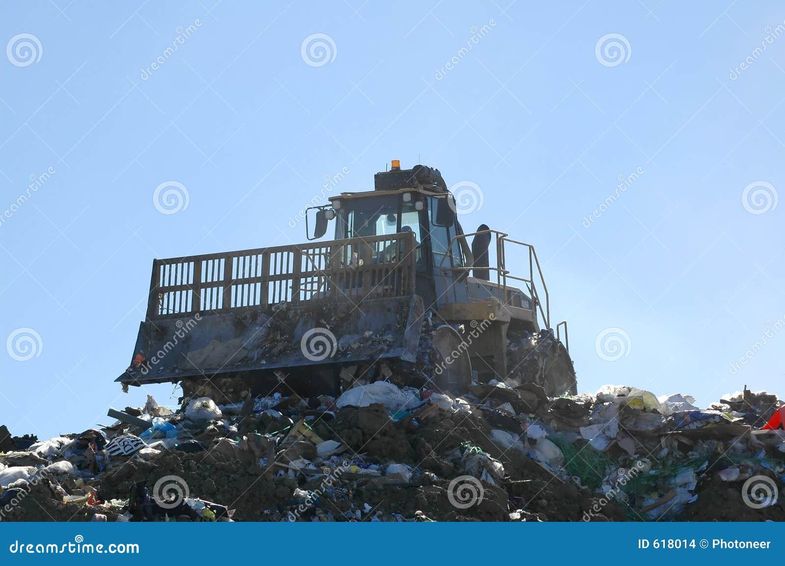 De Pers van de stortplaats