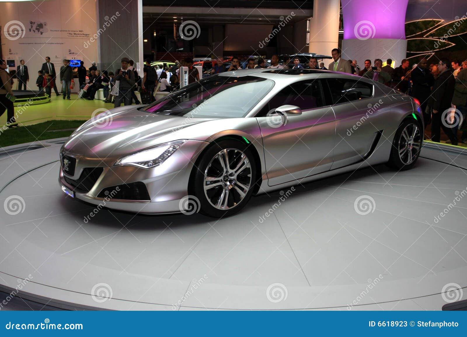 De Peugeot RC Auto van het Concept