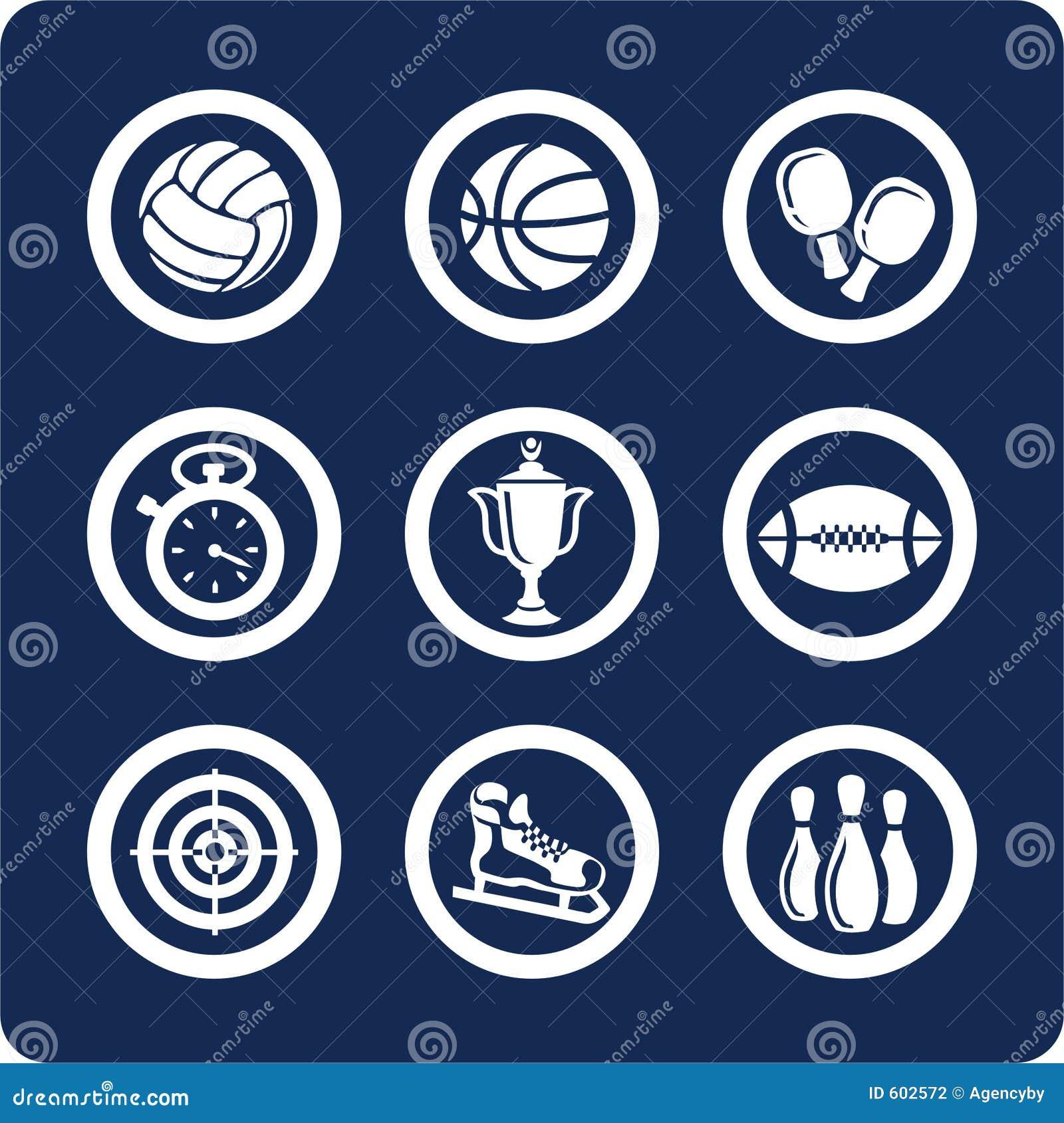 De pictogrammen van de sport (plaats 11, deel 1)