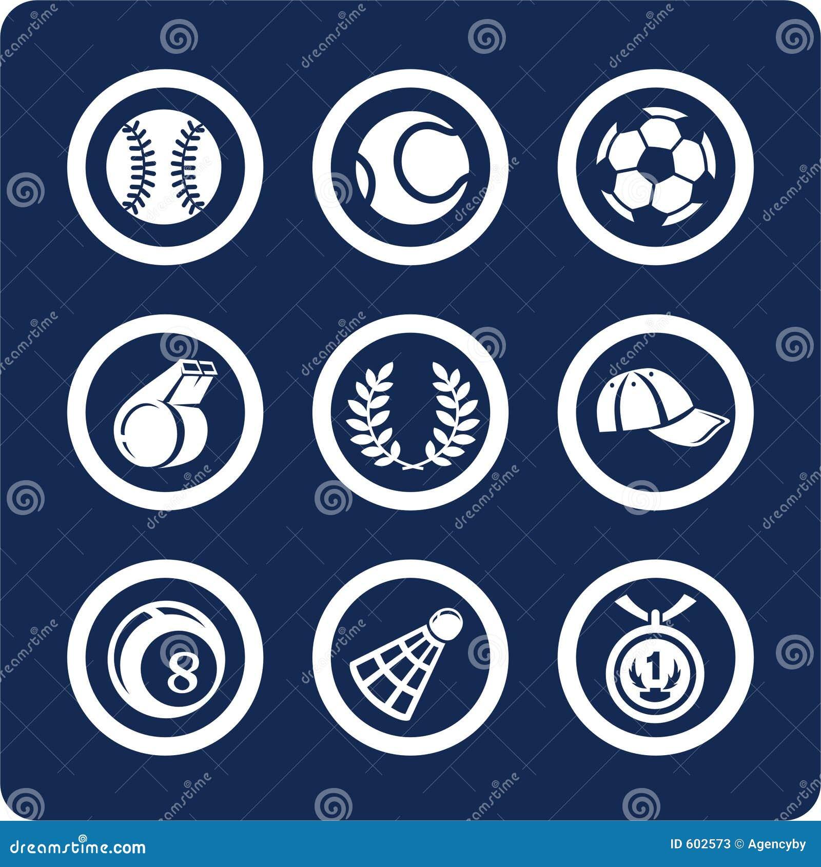 De pictogrammen van de sport (plaats 11, deel 2)