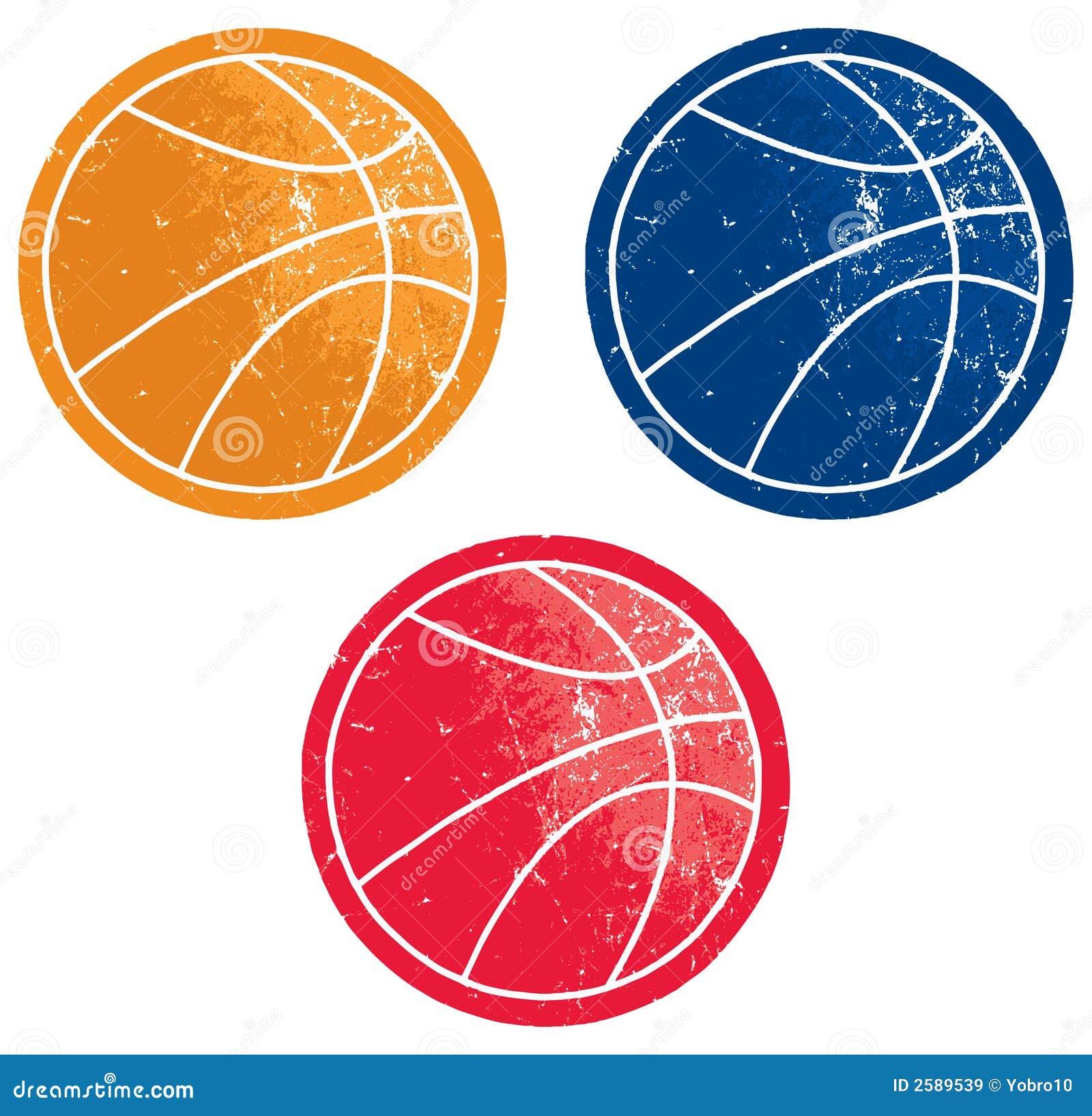 De Pictogrammen van het basketbal