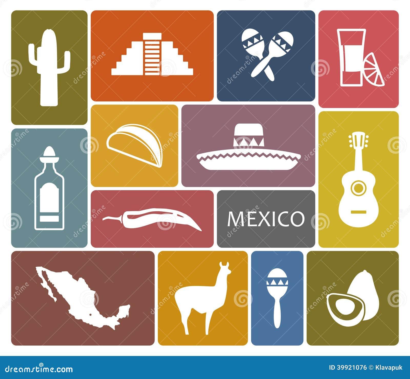 De pictogrammen van Mexico
