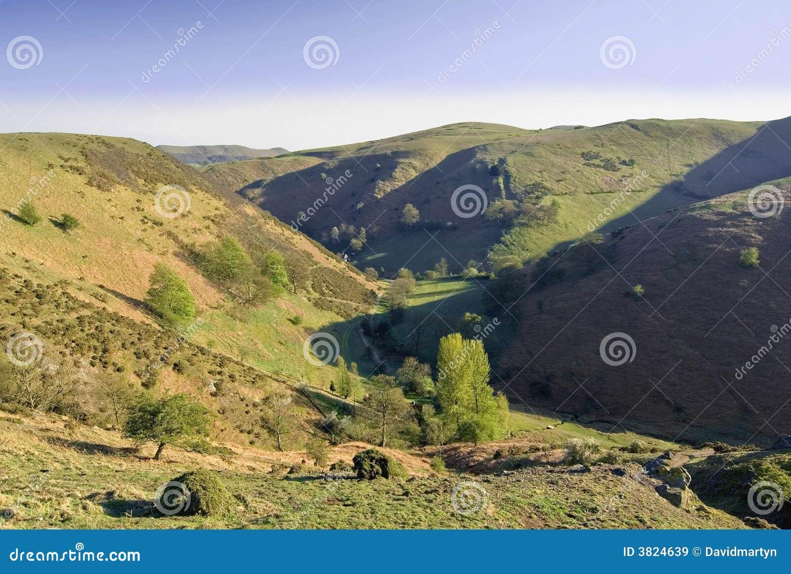 De piek van de berg