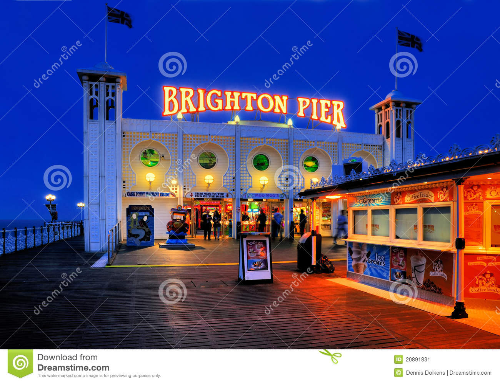 De Pijler van Brighton, Engeland