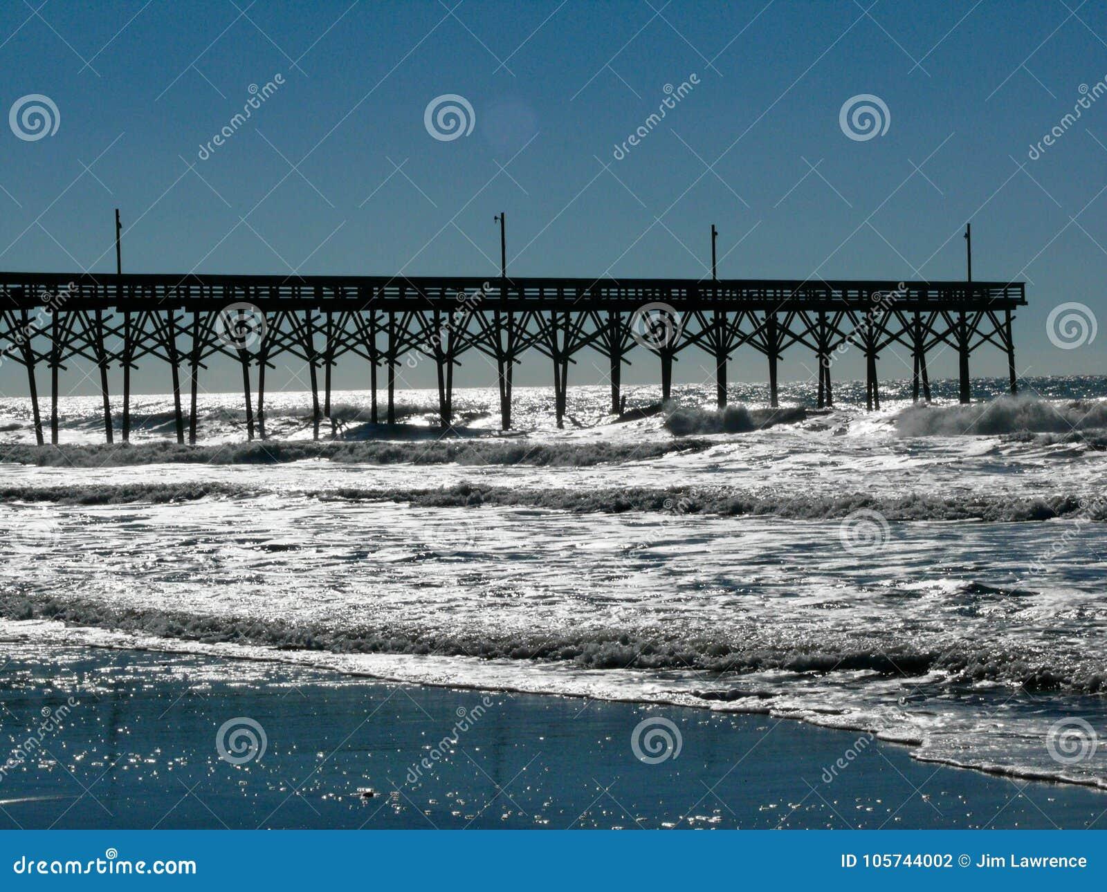 De Pijler van het Holdenstrand