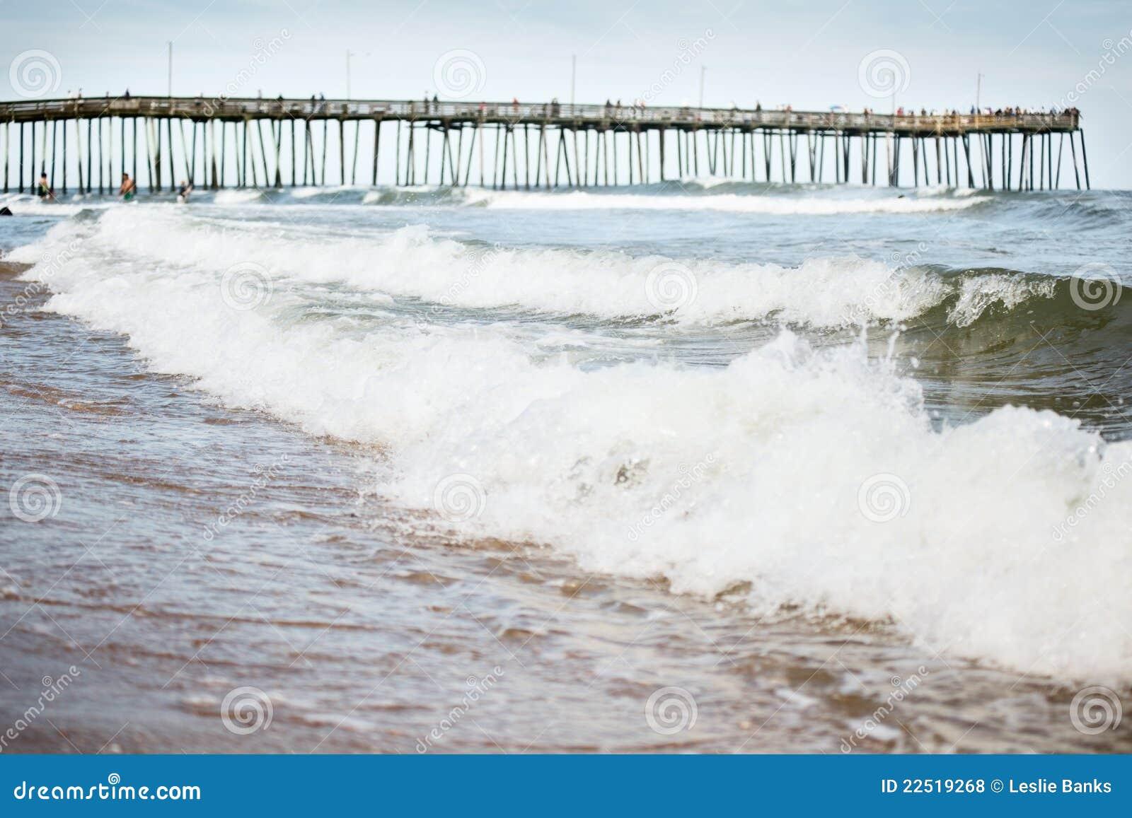 De pijler van Virginia Beach