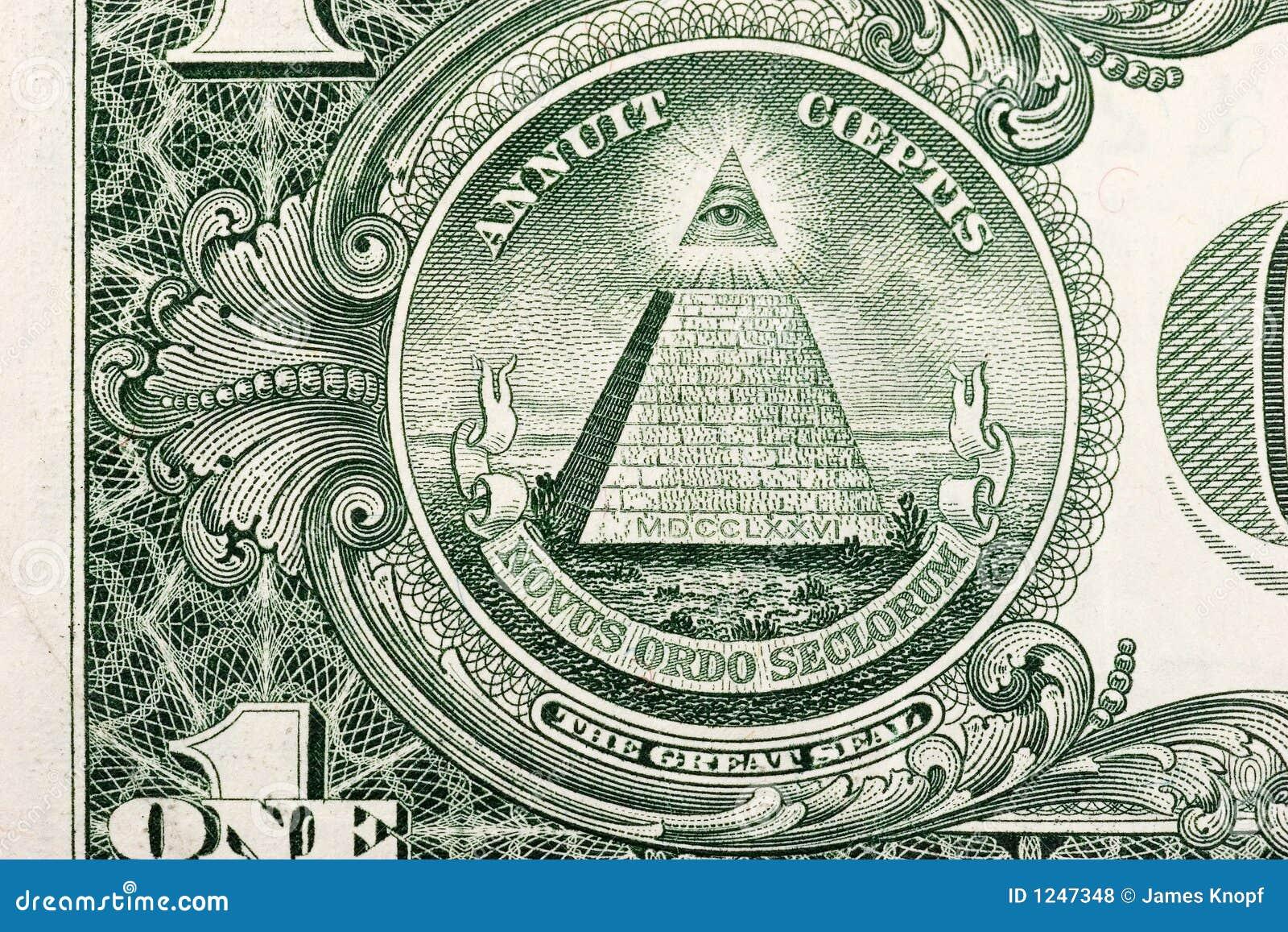 De Piramide van de Rekening van de dollar