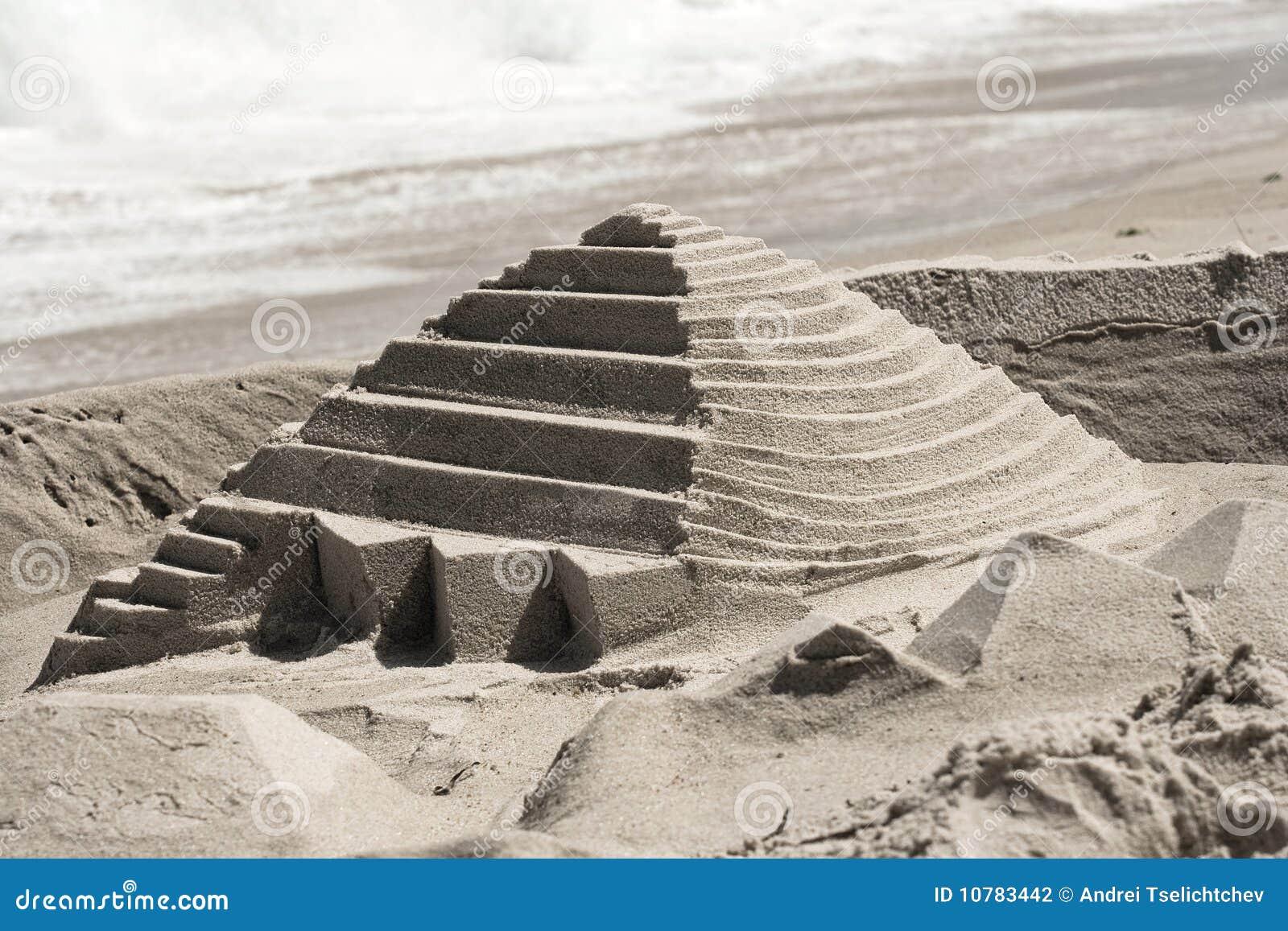 De Piramide van het zandkasteel