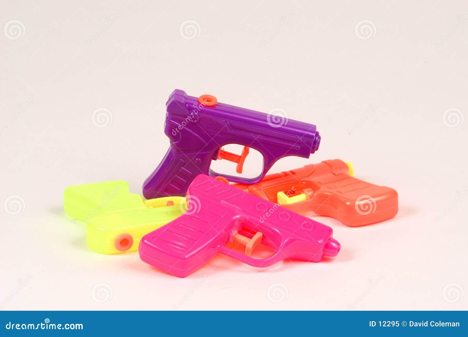 De Pistolen van het water