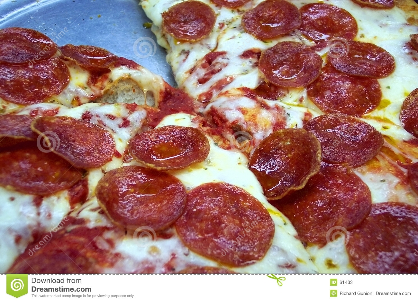 De Pizza van de Minnaar van pepperonis