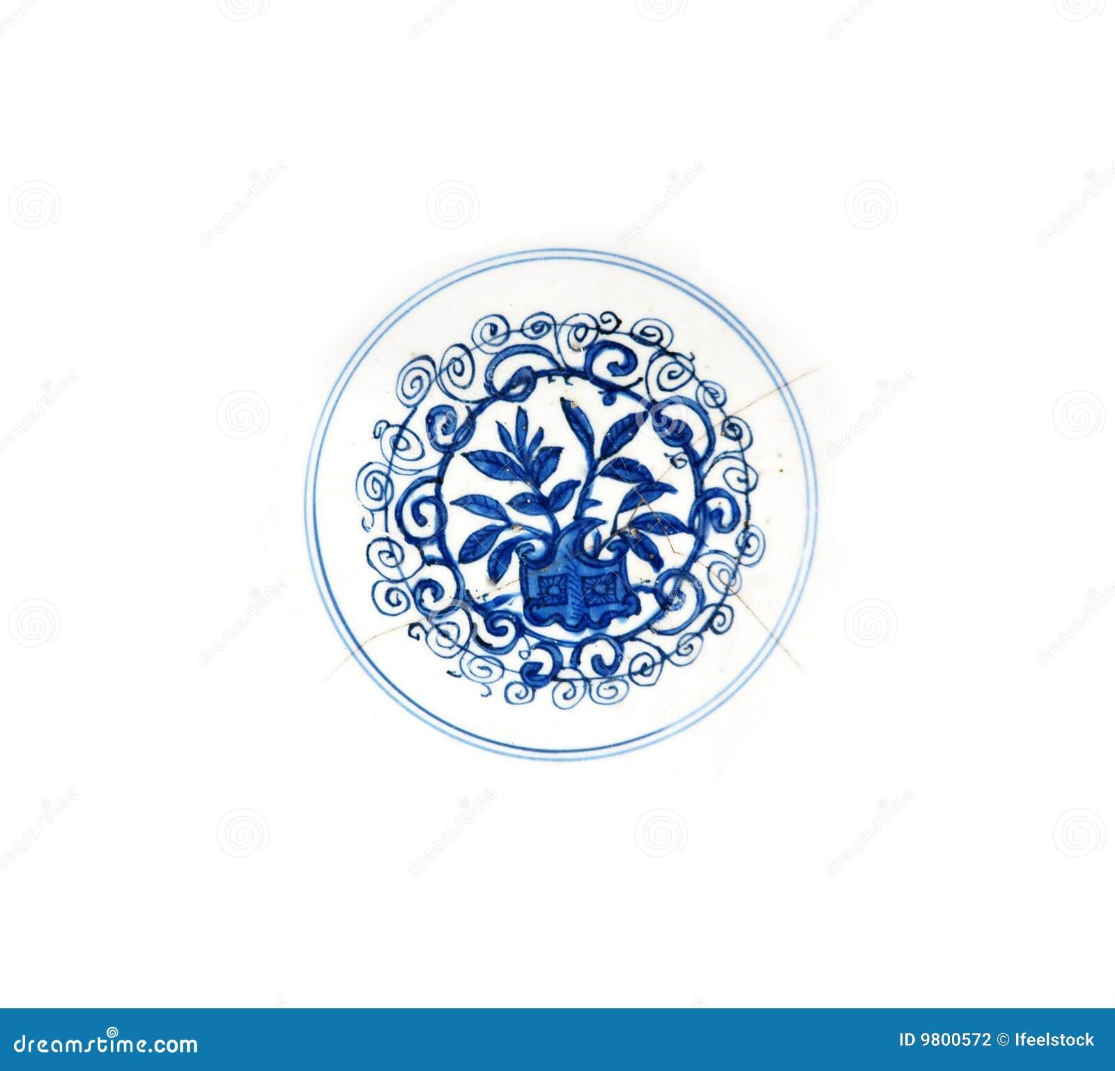 De plaatdetail van Ming
