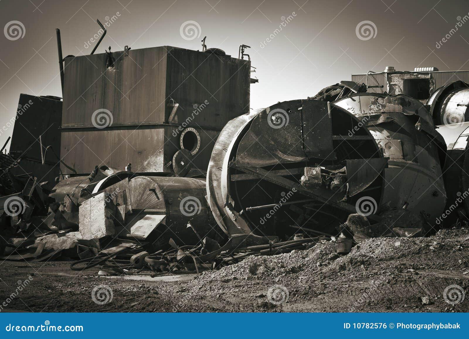 De Plaats van de vernieling