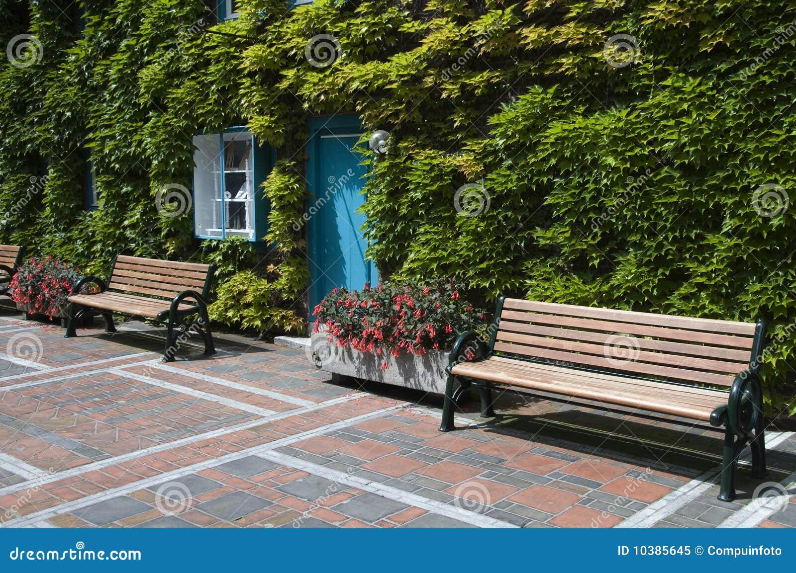 De plaats van Outide om te zitten