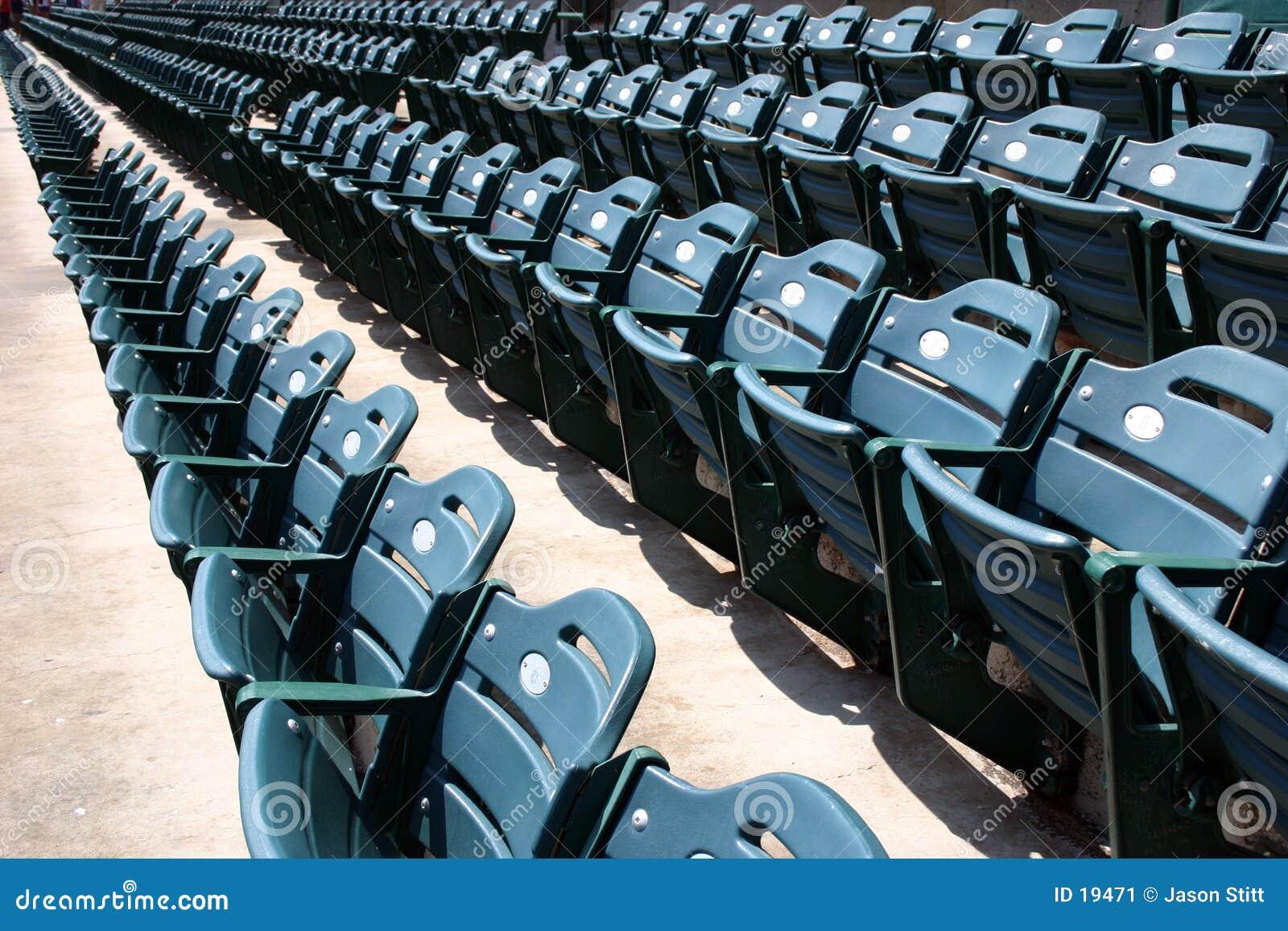 De Plaatsing van het stadion