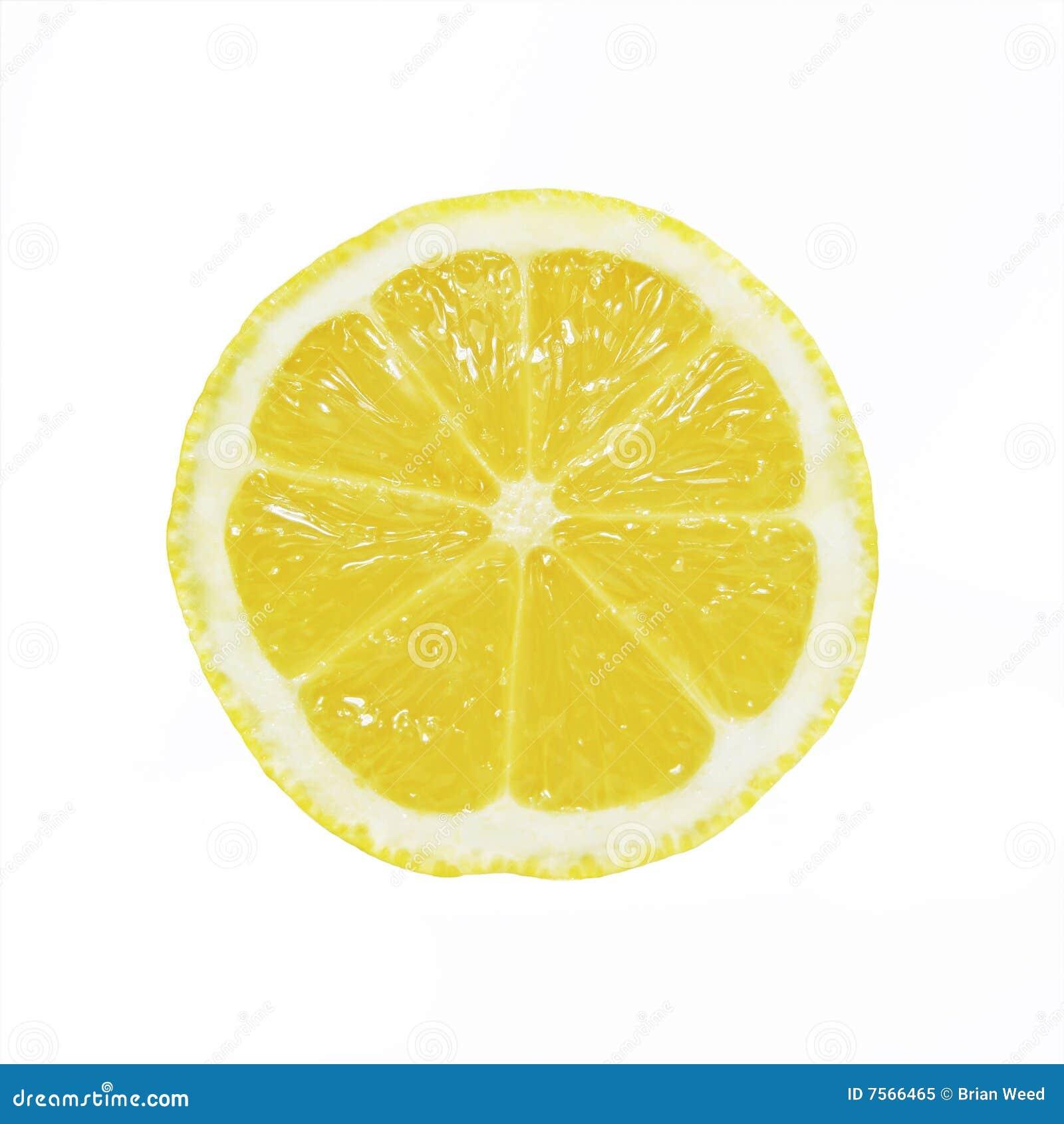 De Plak van de citroen