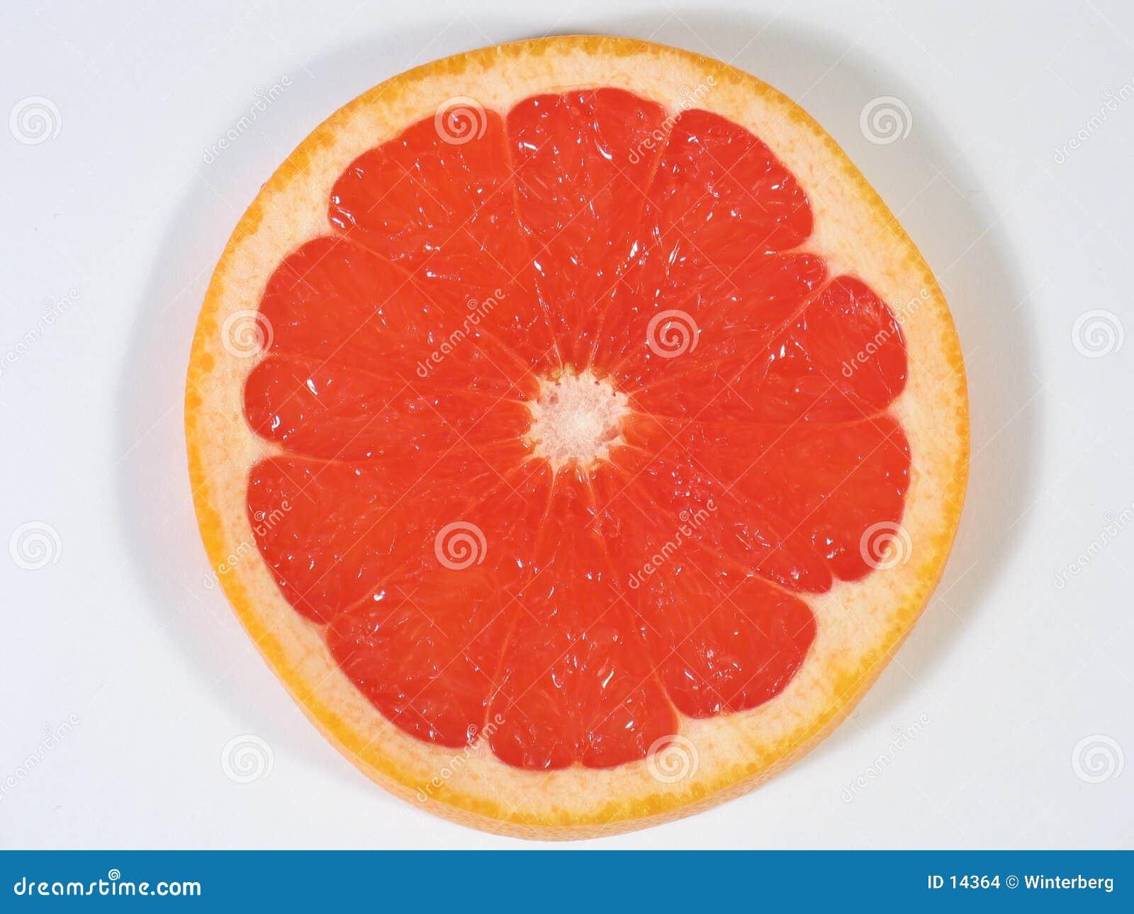 De Plak van de grapefruit