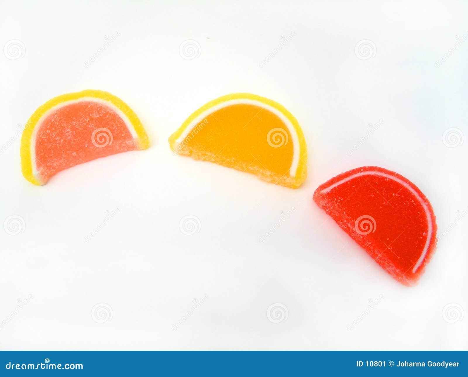 De Plakken van het suikergoed